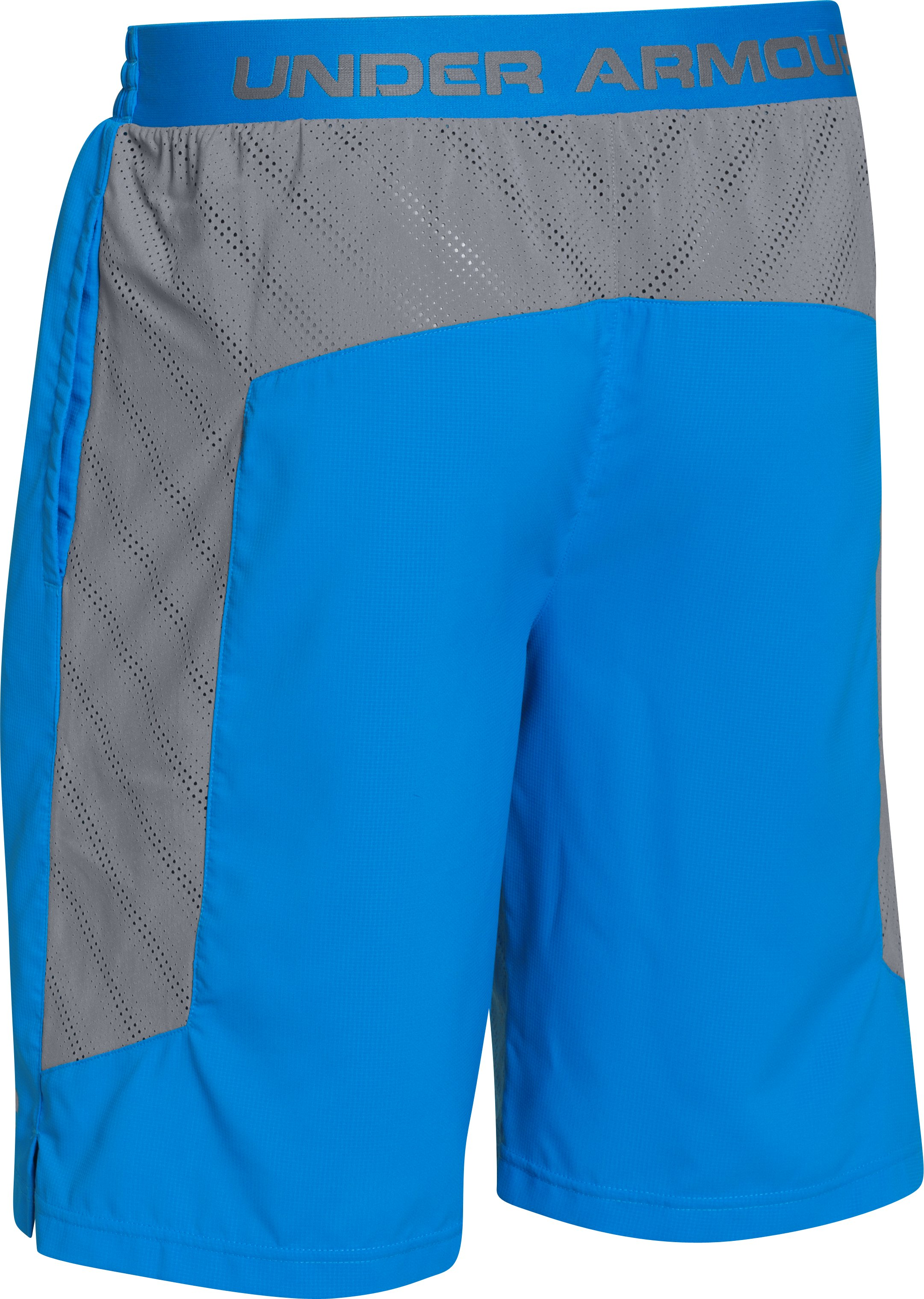 Men's UA HeatGear® ArmourVent™ Shorts, ELECTRIC BLUE