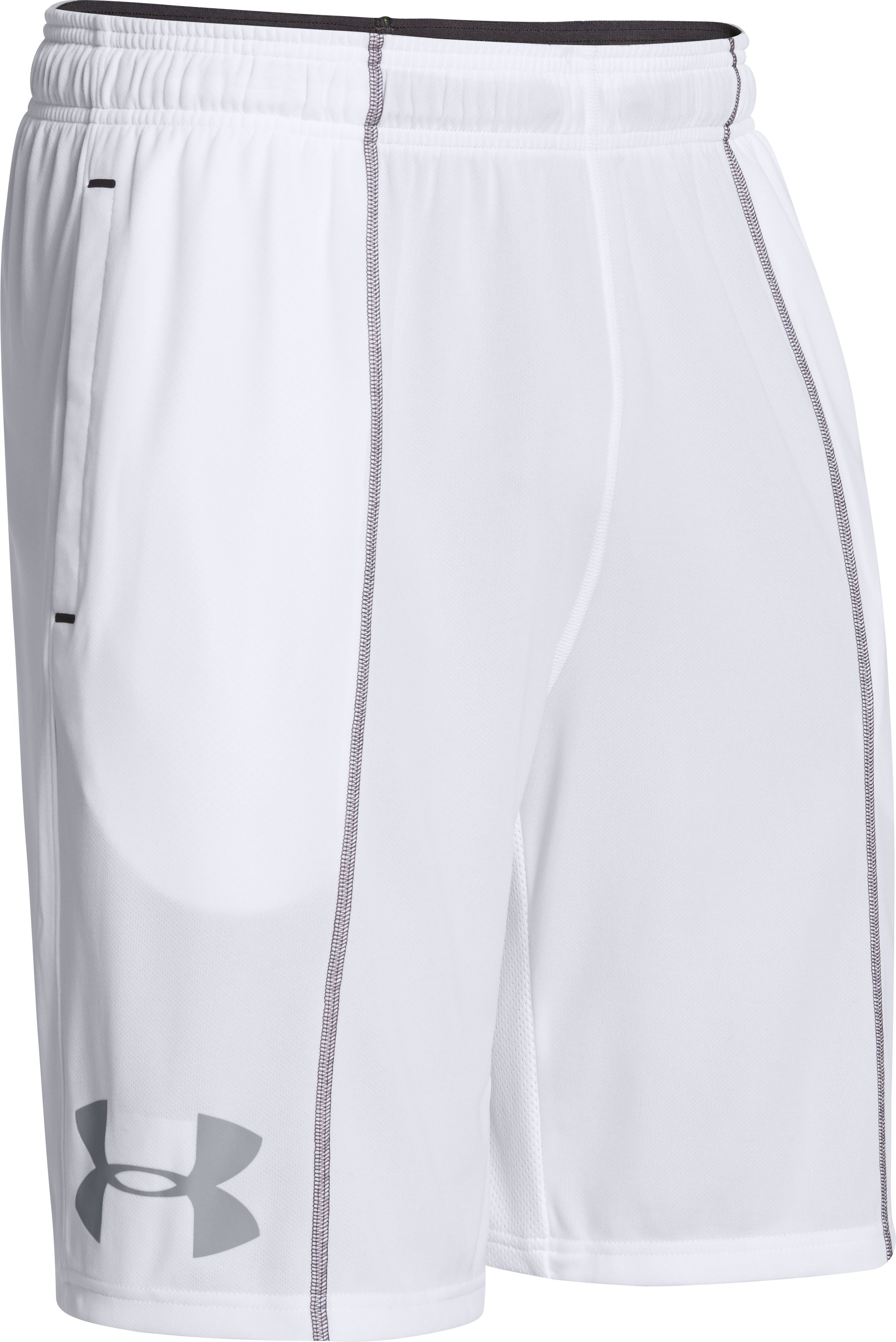 Men's UA Combine® Training Shorts, White