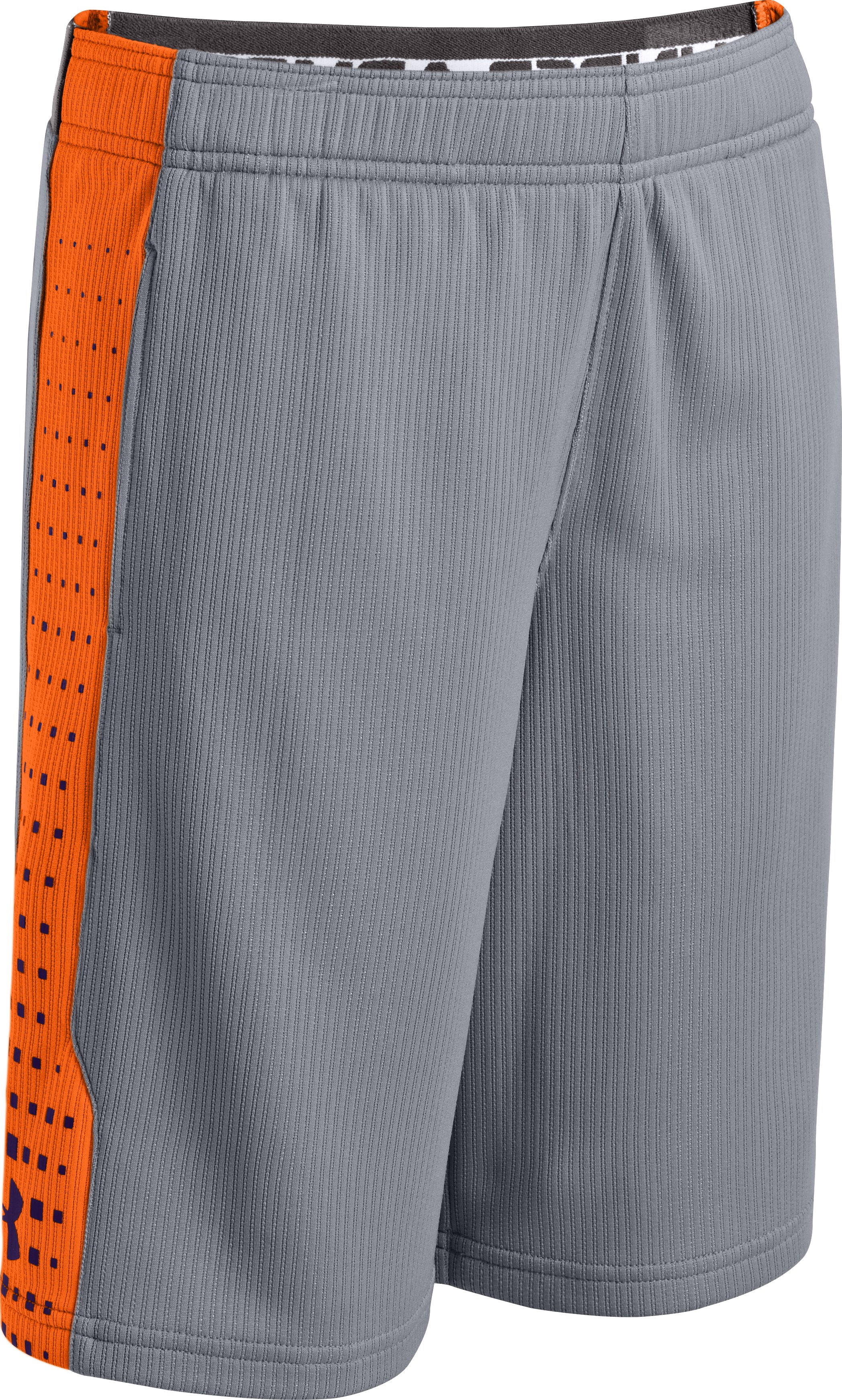 Boys' UA Done Done Done Shorts, Steel, zoomed image