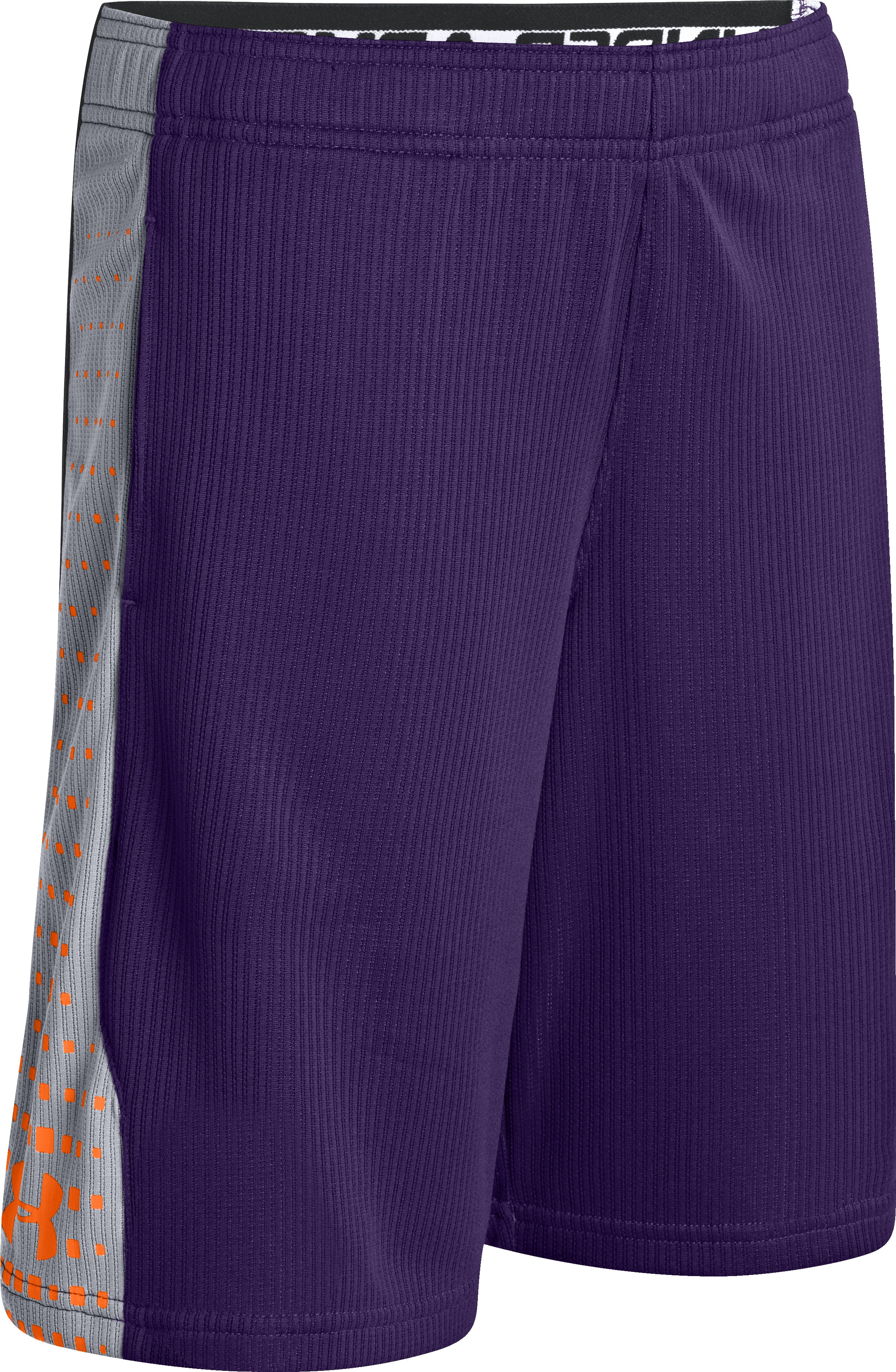 Boys' UA Done Done Done Shorts, Purple