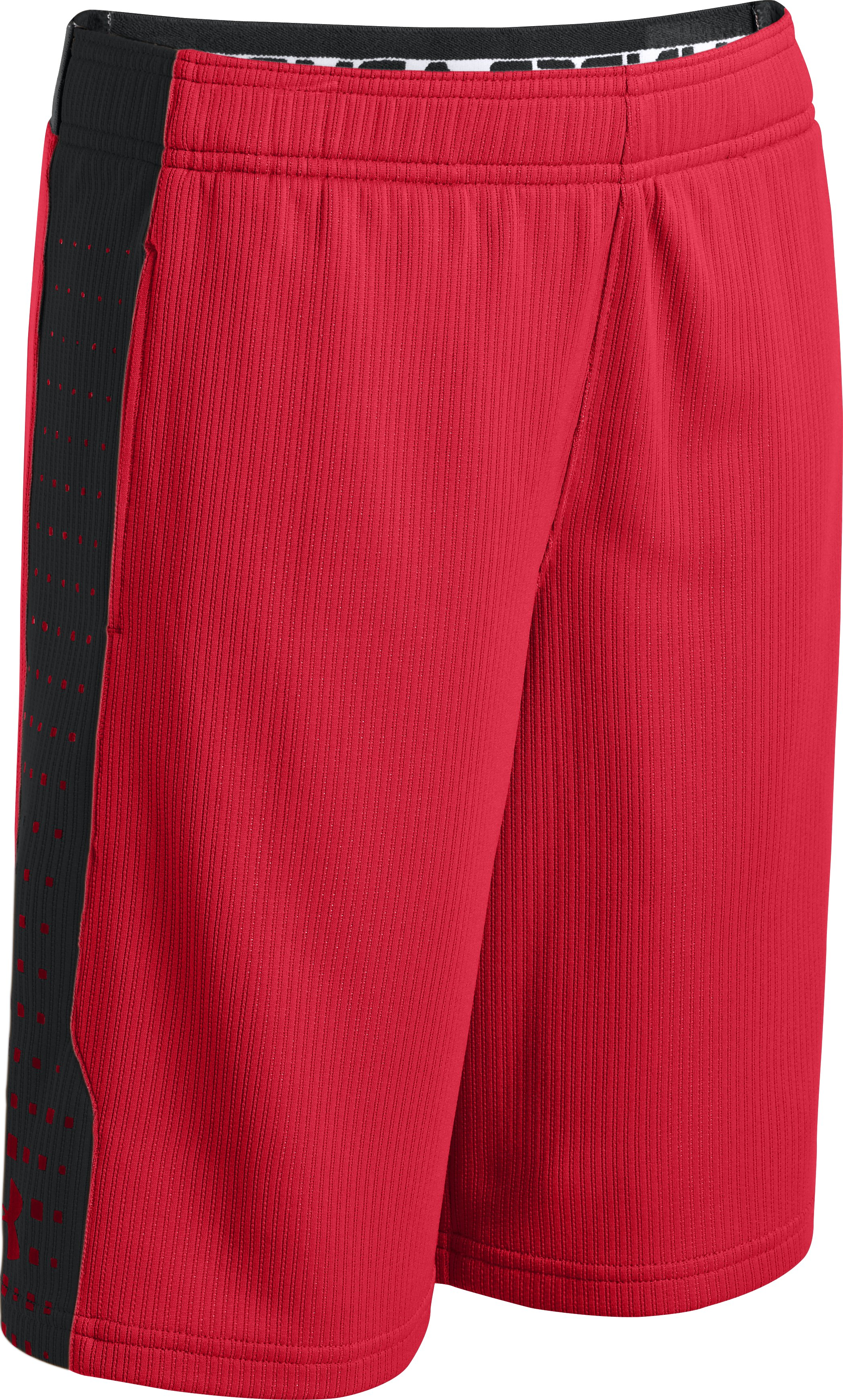 Boys' UA Done Done Done Shorts, Red, zoomed image