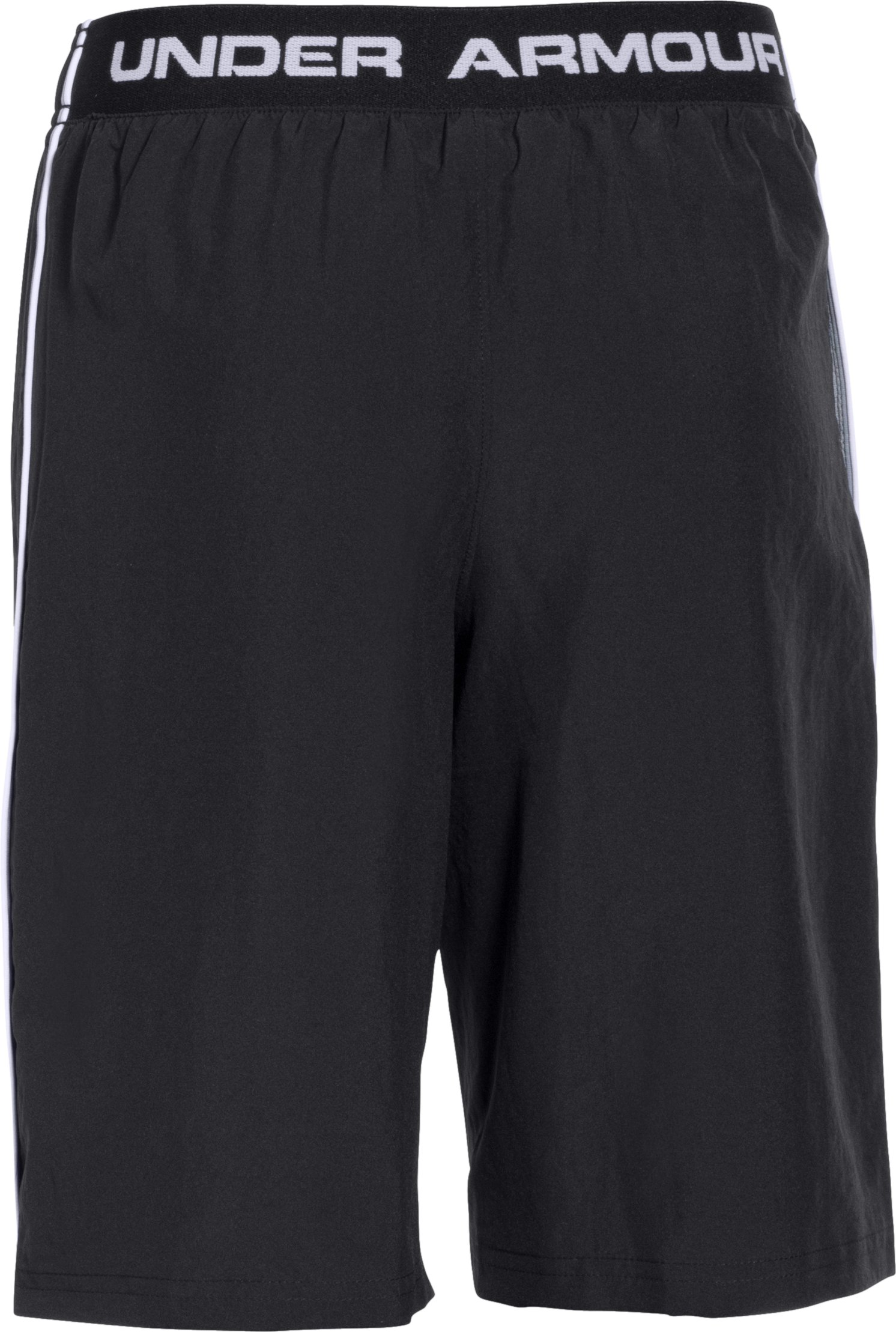 Boys' UA Edge Shorts, Black