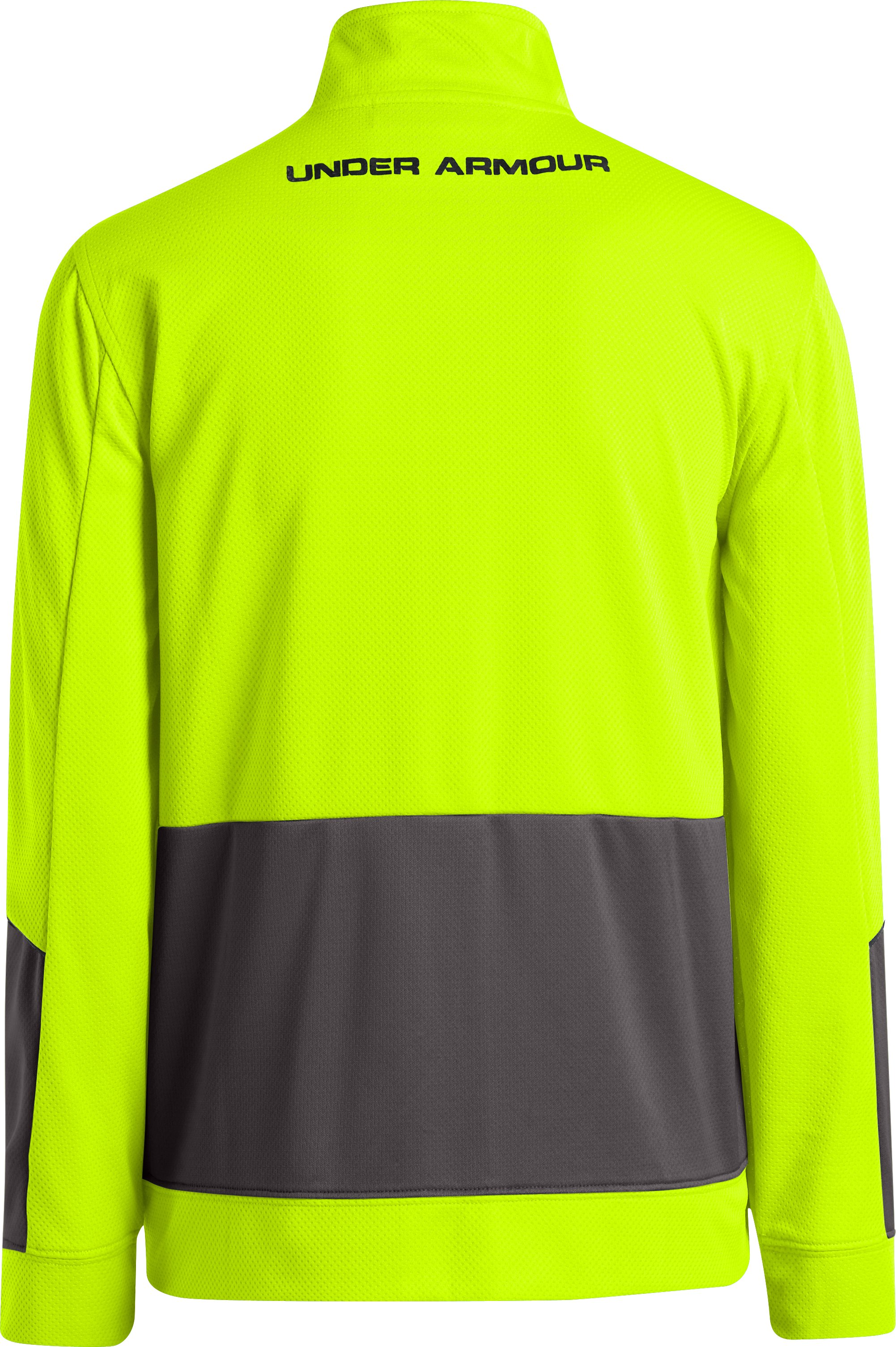 Boys' UA Hero Jacket, High-Vis Yellow