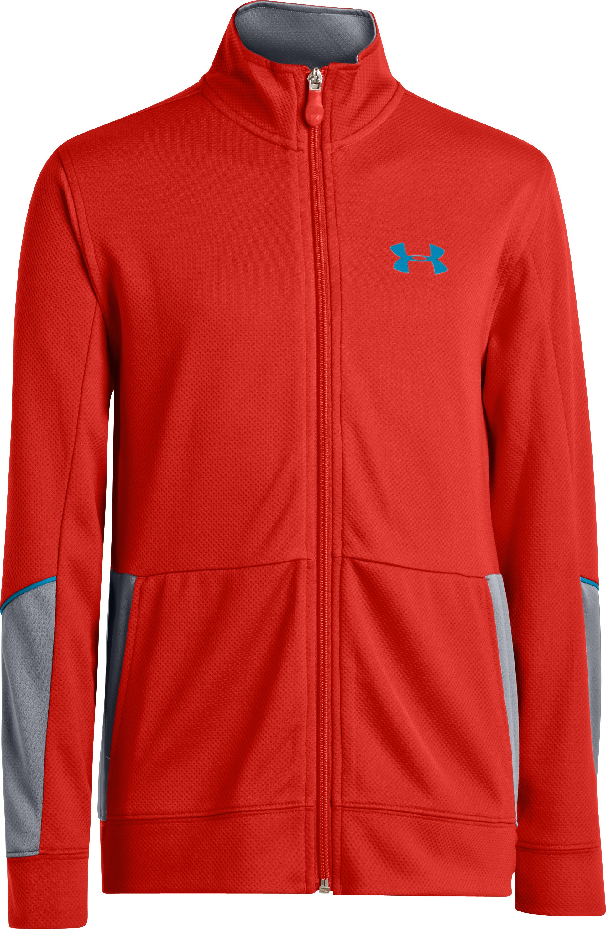 Boys' UA Hero Jacket, Noise, zoomed image