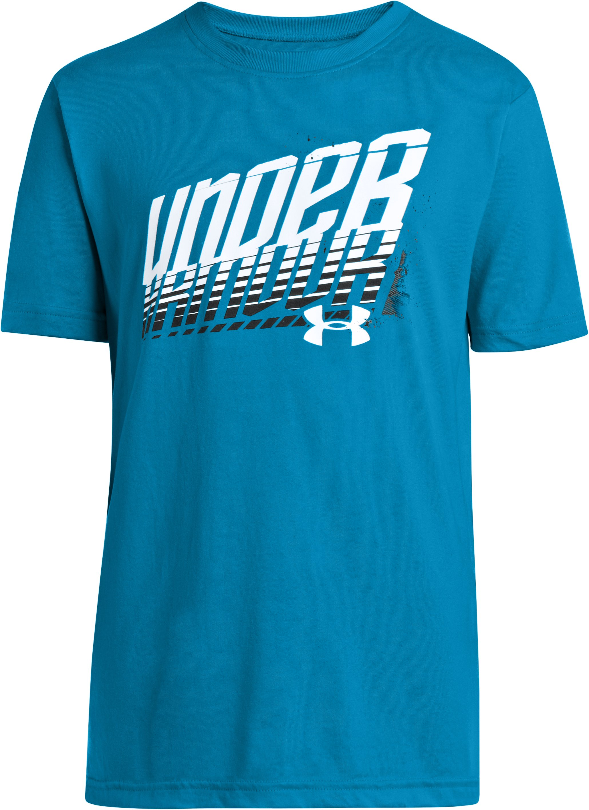 Boys' UA Future Fast T-Shirt, PIRATE BLUE, zoomed image