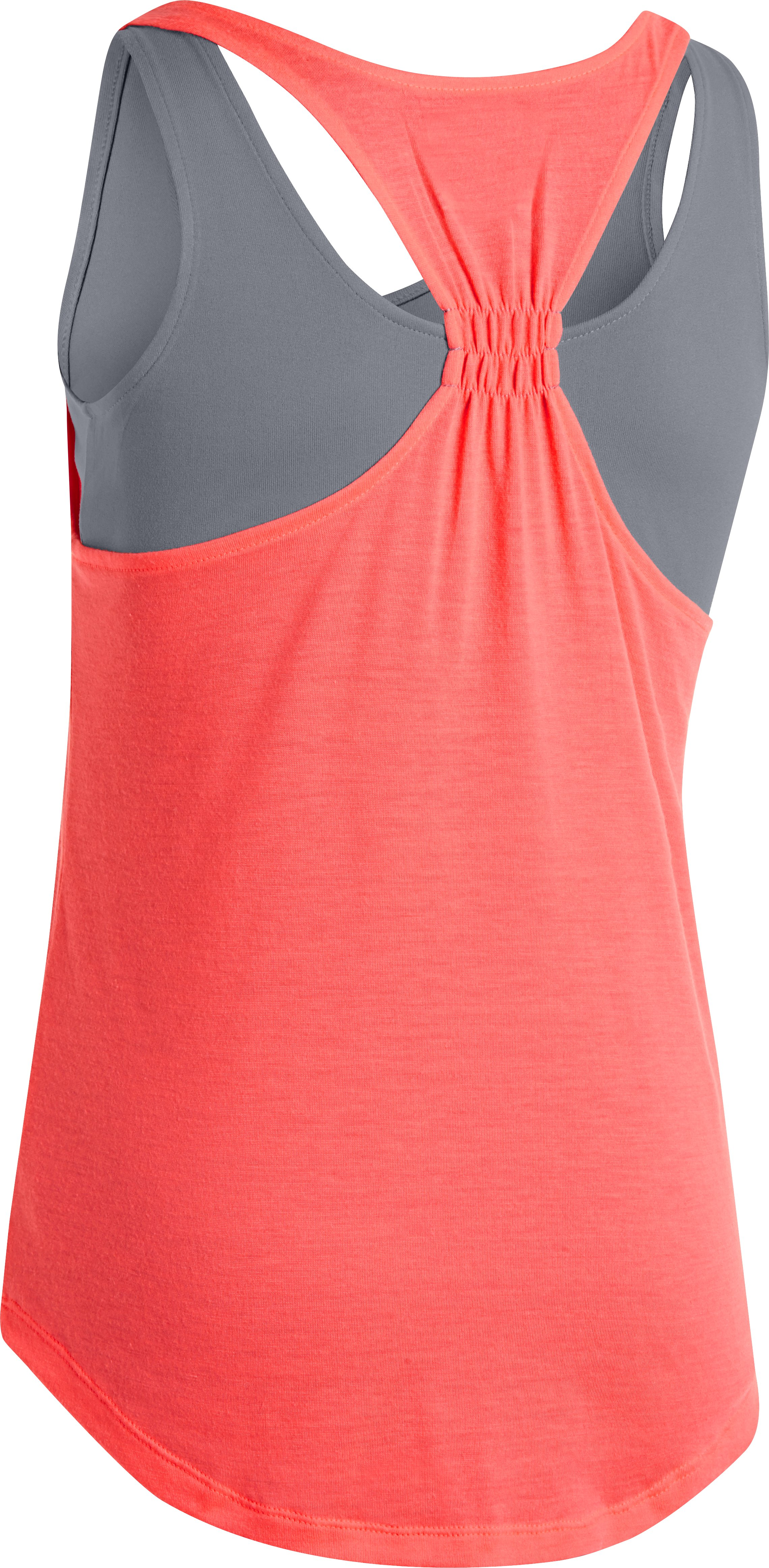 Girls' UA Double The Fun Tank, BRILLIANCE, undefined