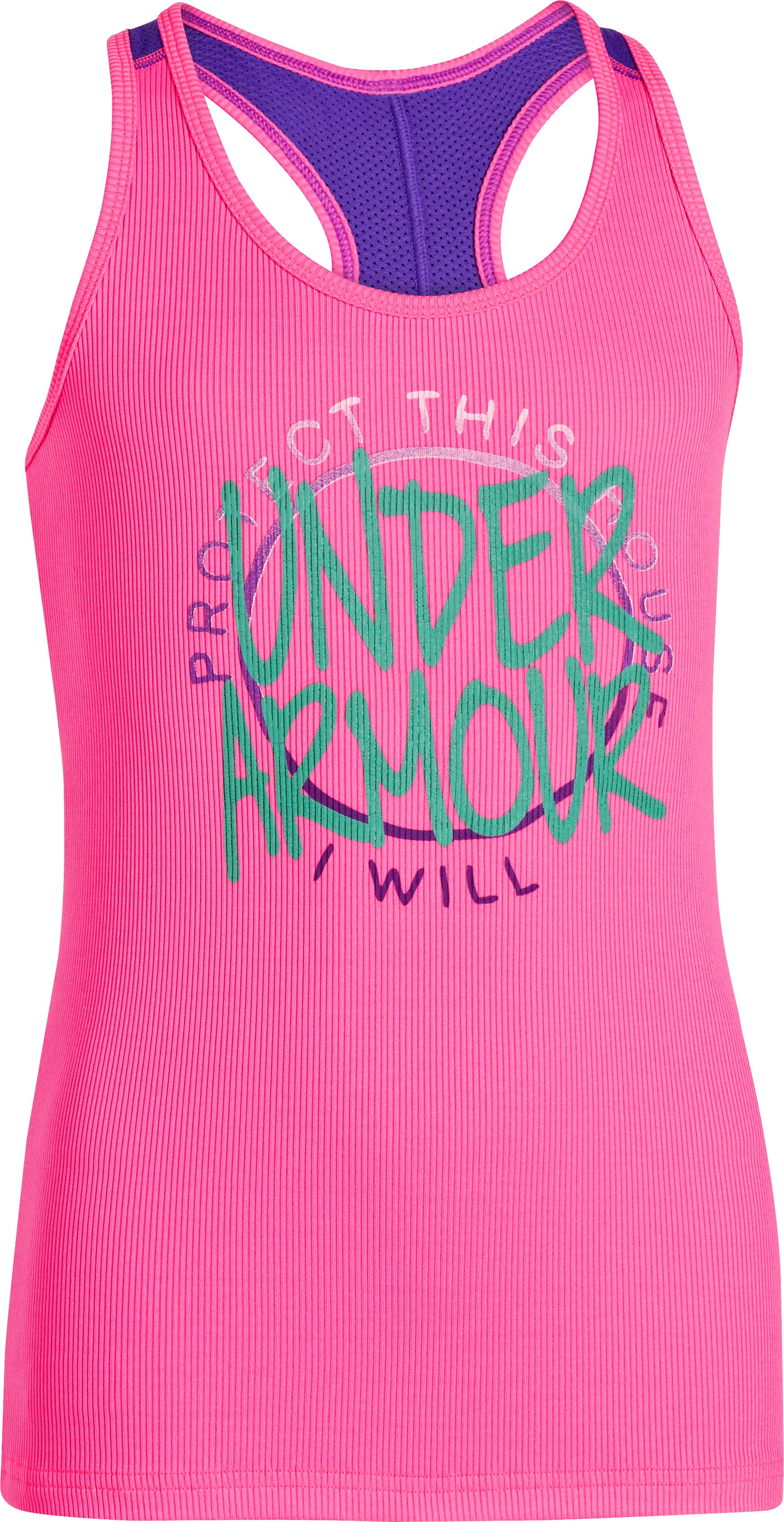 Girls' Graphic UA Victory Tank, CHAOS