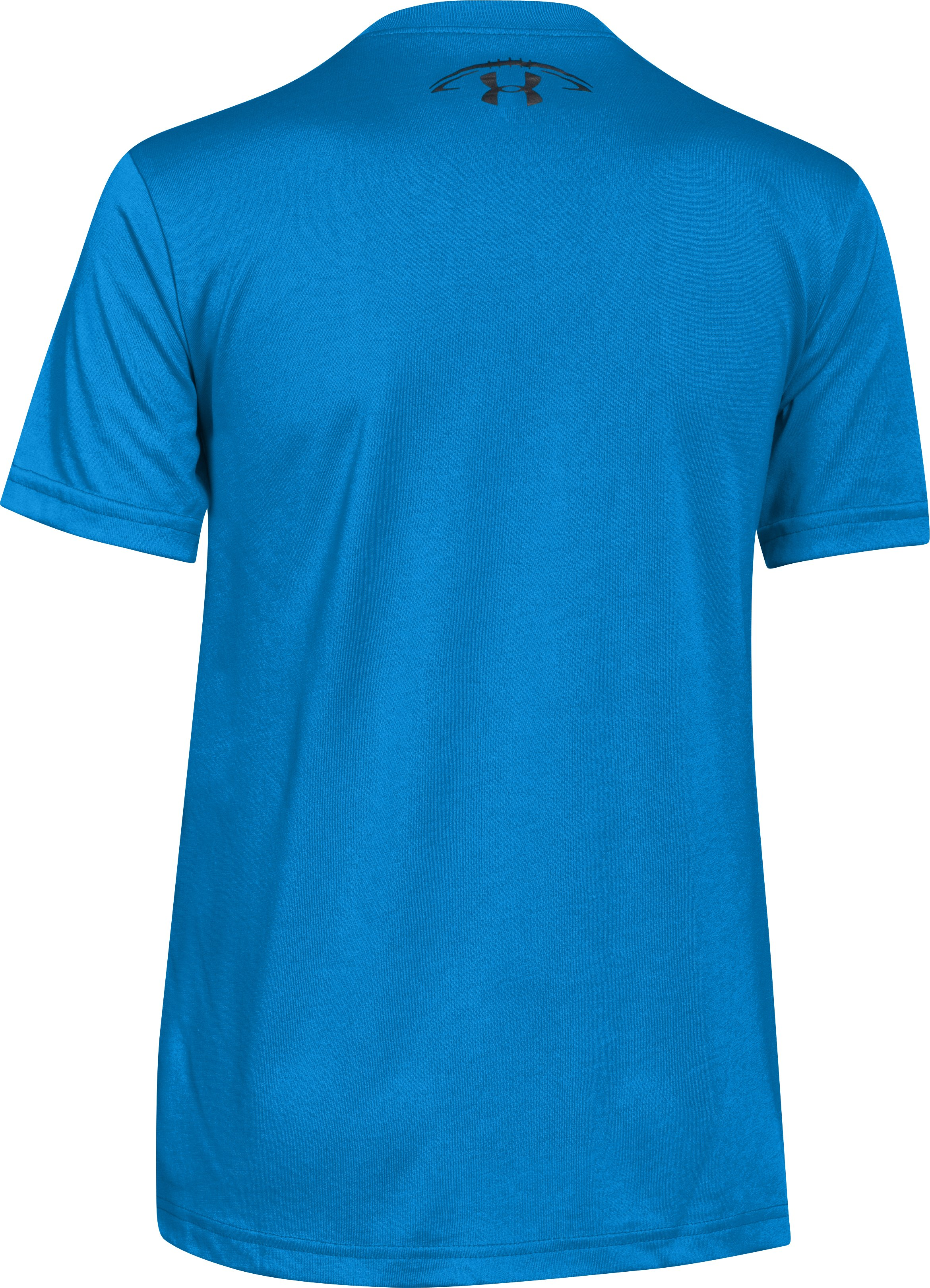 Boys' UA Football Surge T-Shirt, ELECTRIC BLUE, undefined