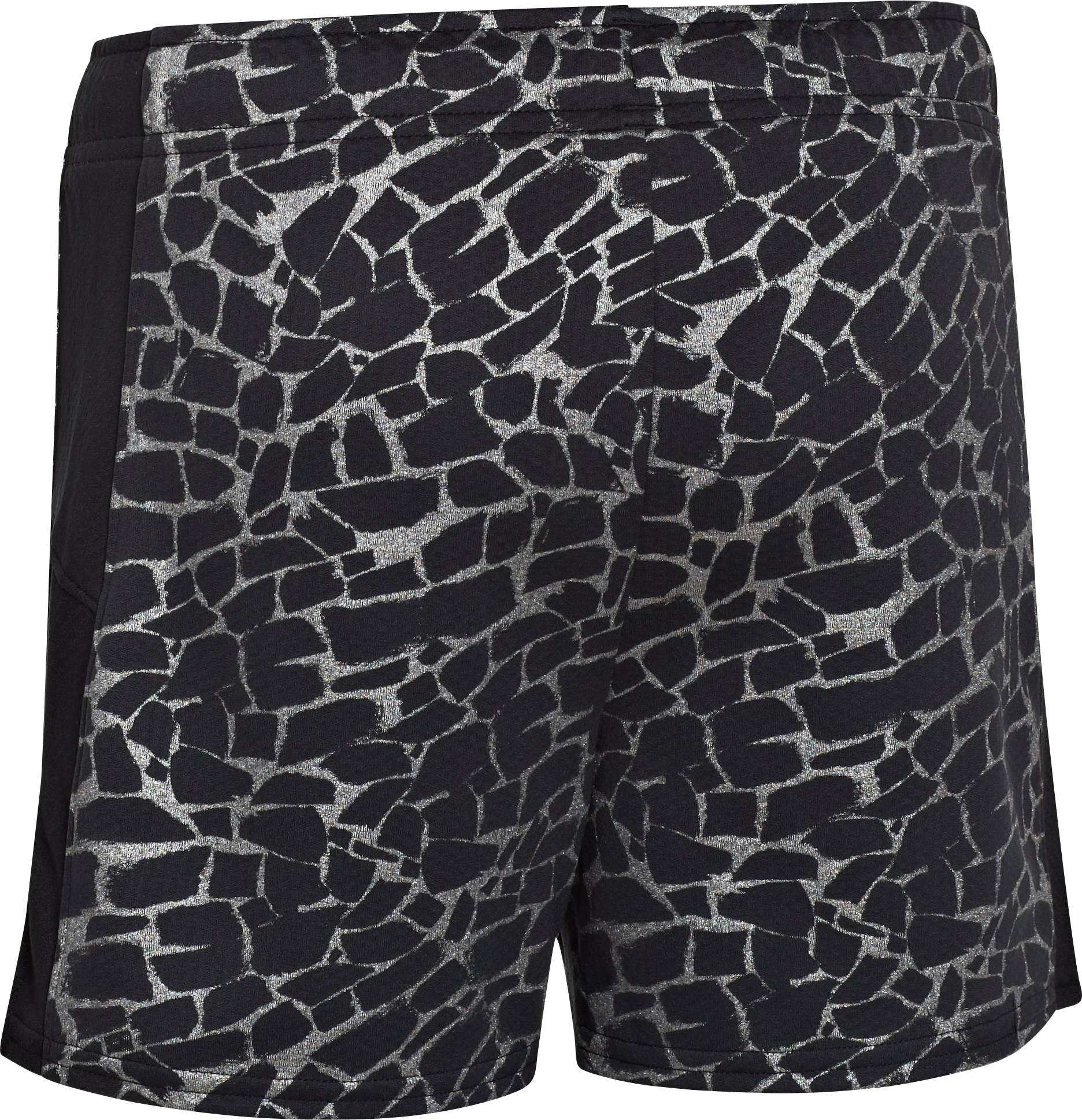 Girls' UA Intensity Print Shorts, Black