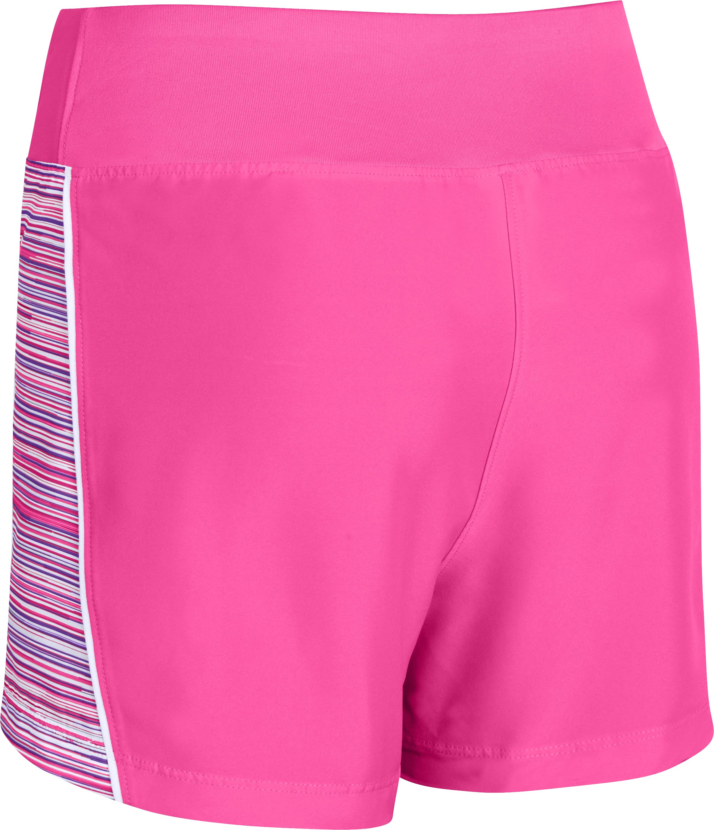 "Girls' UA Move It 3"" Shorts, CHAOS"