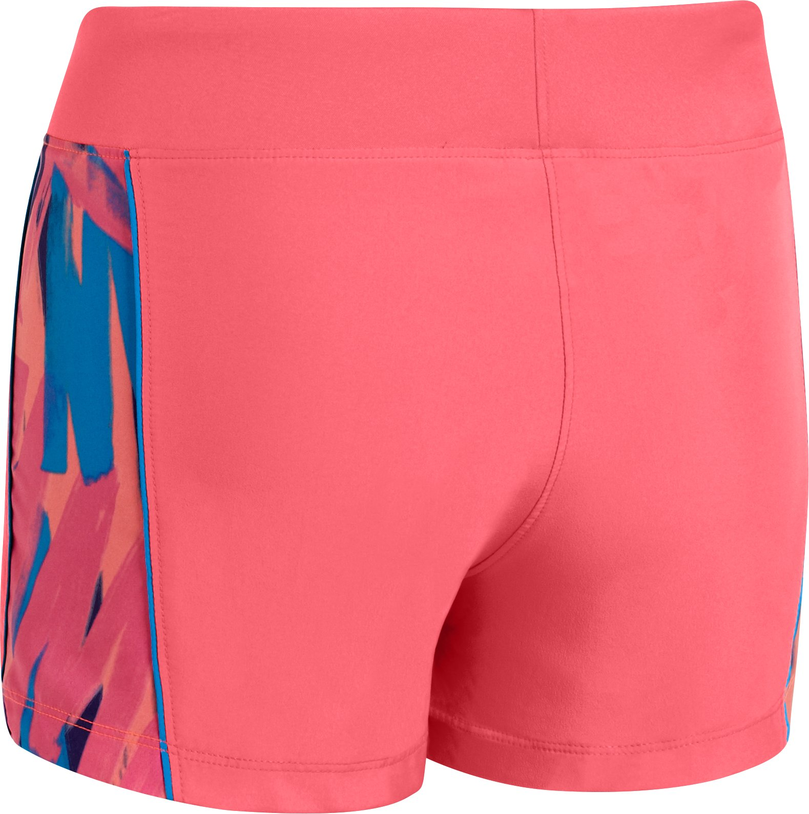 "Girls' UA Move It 3"" Shorts, BRILLIANCE"