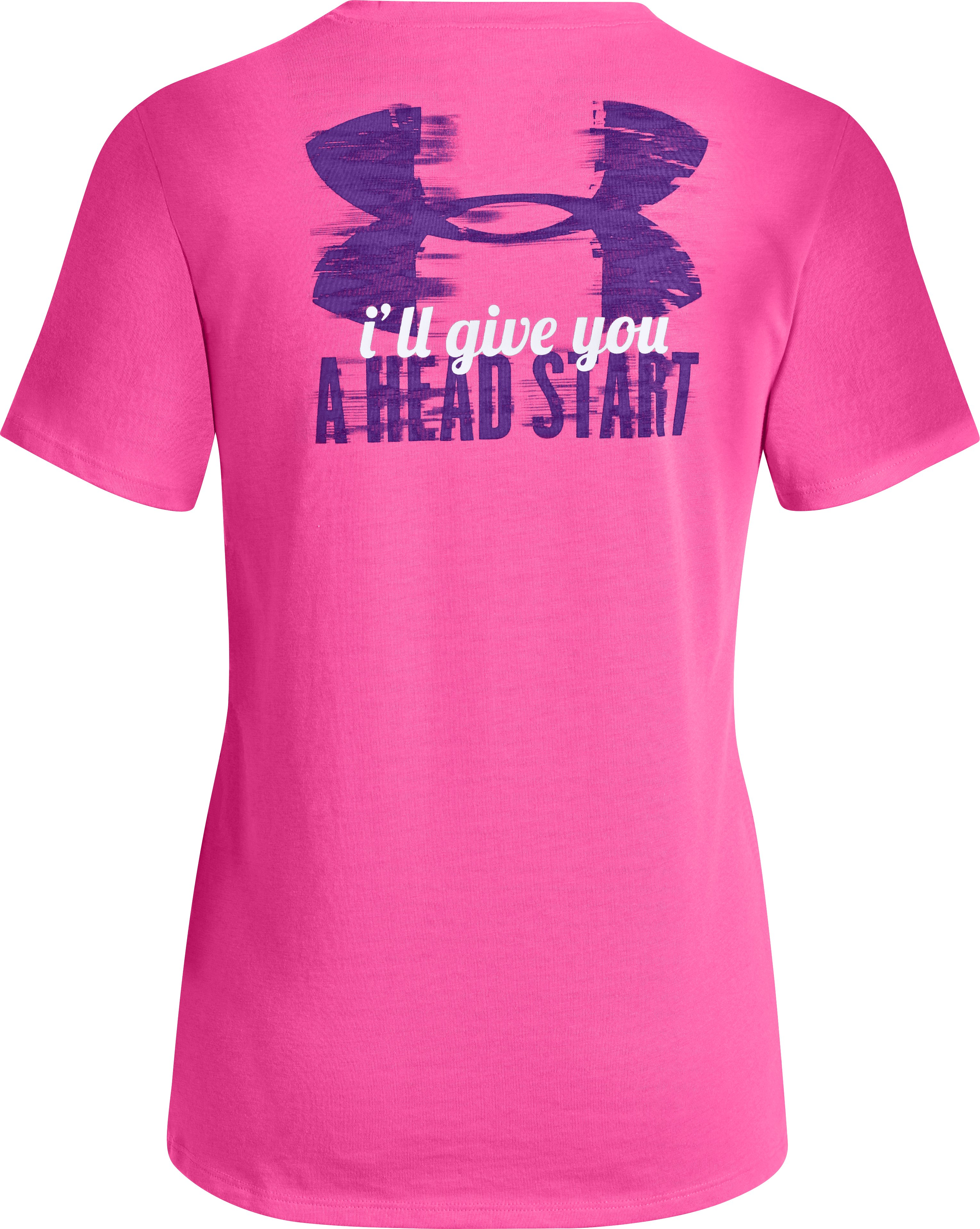 Girls' UA Head Start T-Shirt, CHAOS