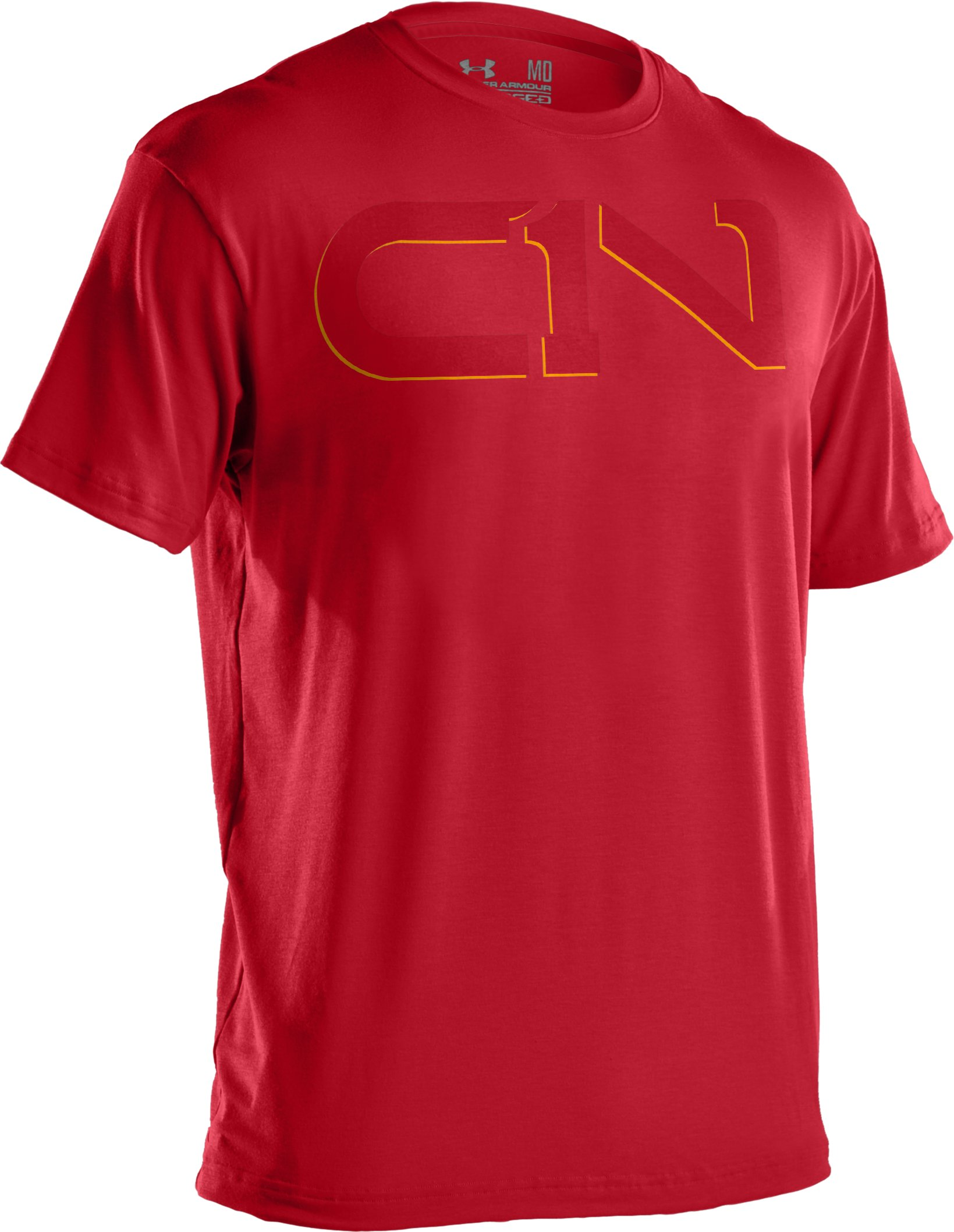 Men's C1N Logo T-Shirt, Red