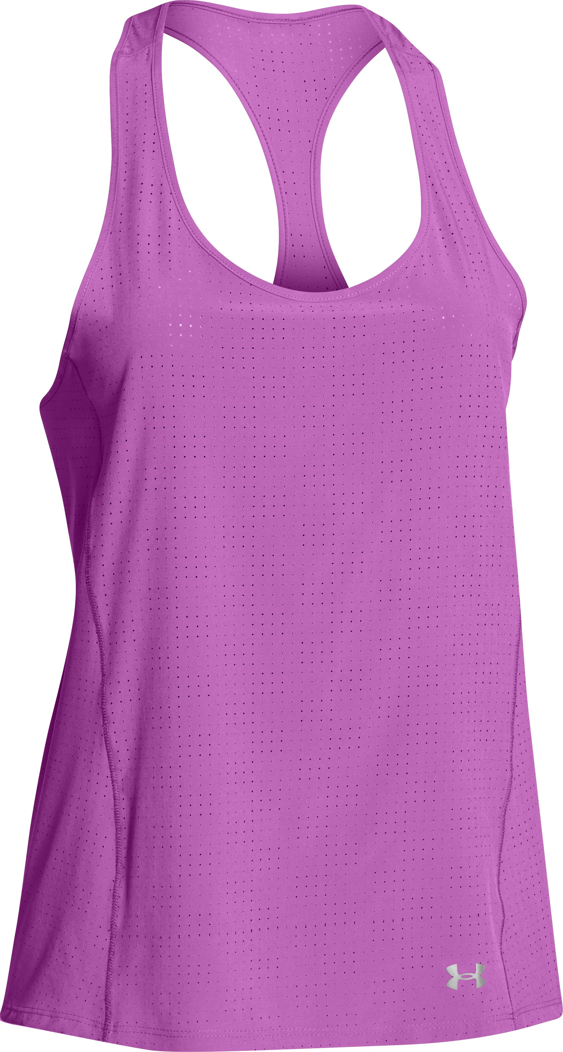 Women's UA Stunner Perf Tank, EXOTIC BLOOM, undefined