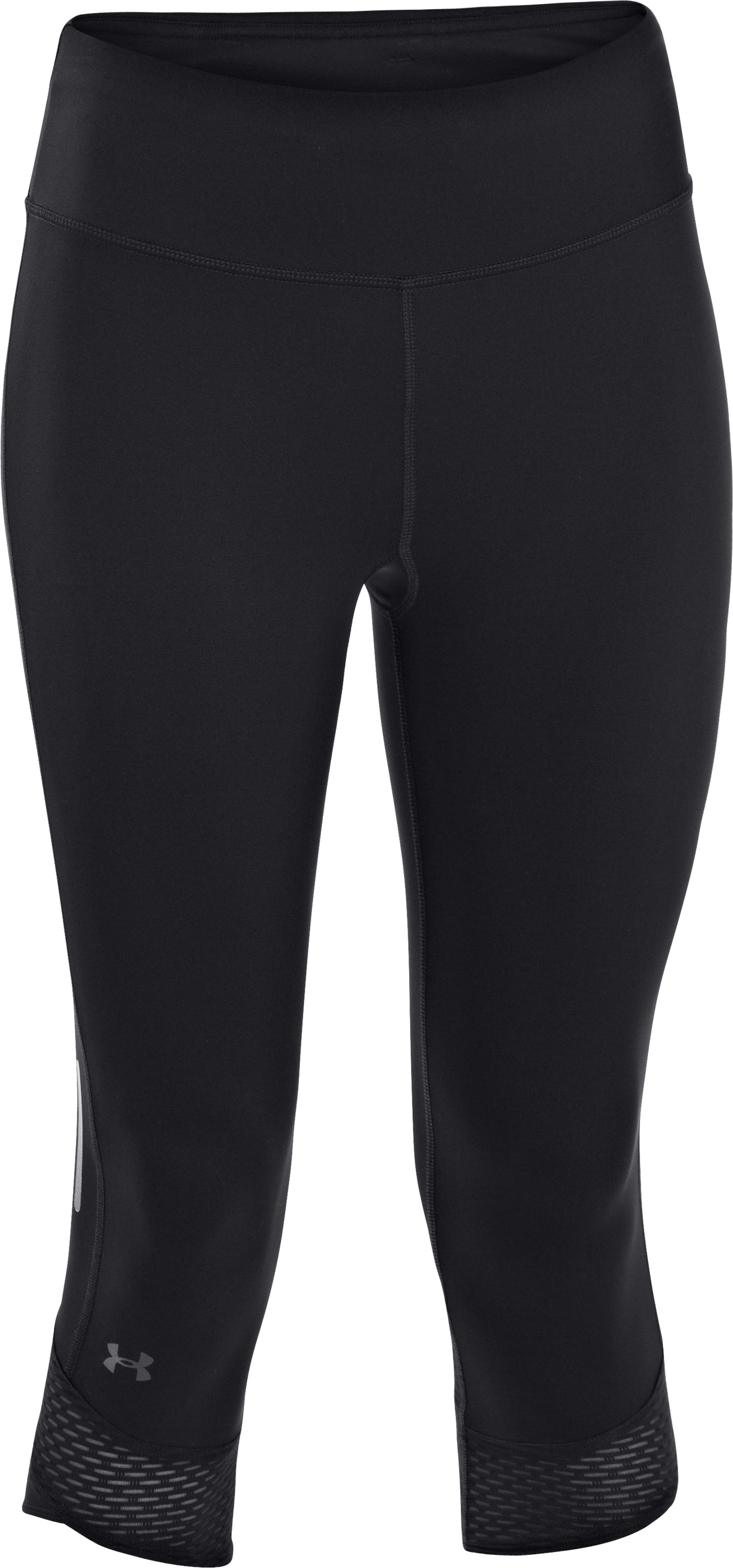 Women's UA Fly-By Compression Capri, Black