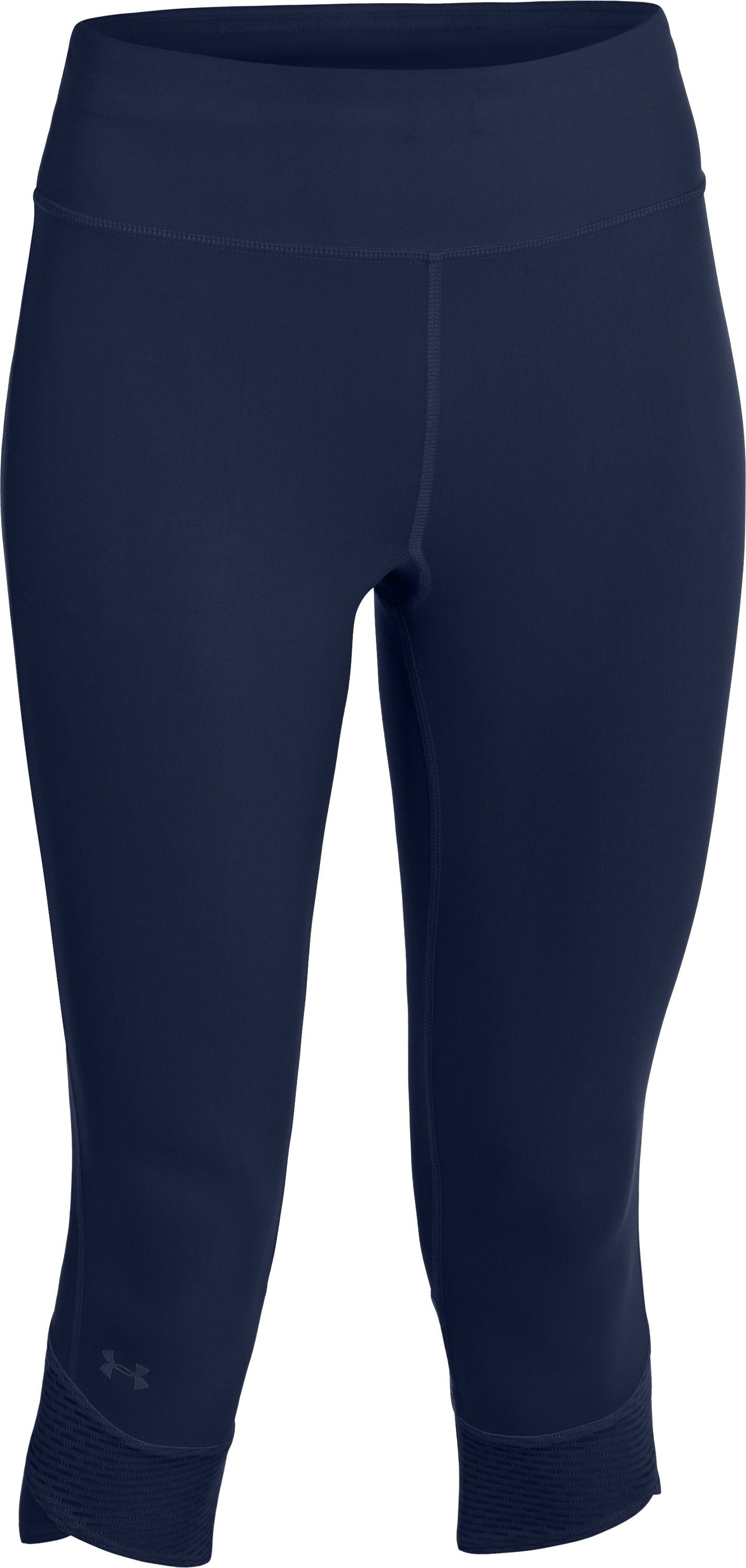 Women's UA Fly-By Compression Capri, RUSSIAN NIGHTS,