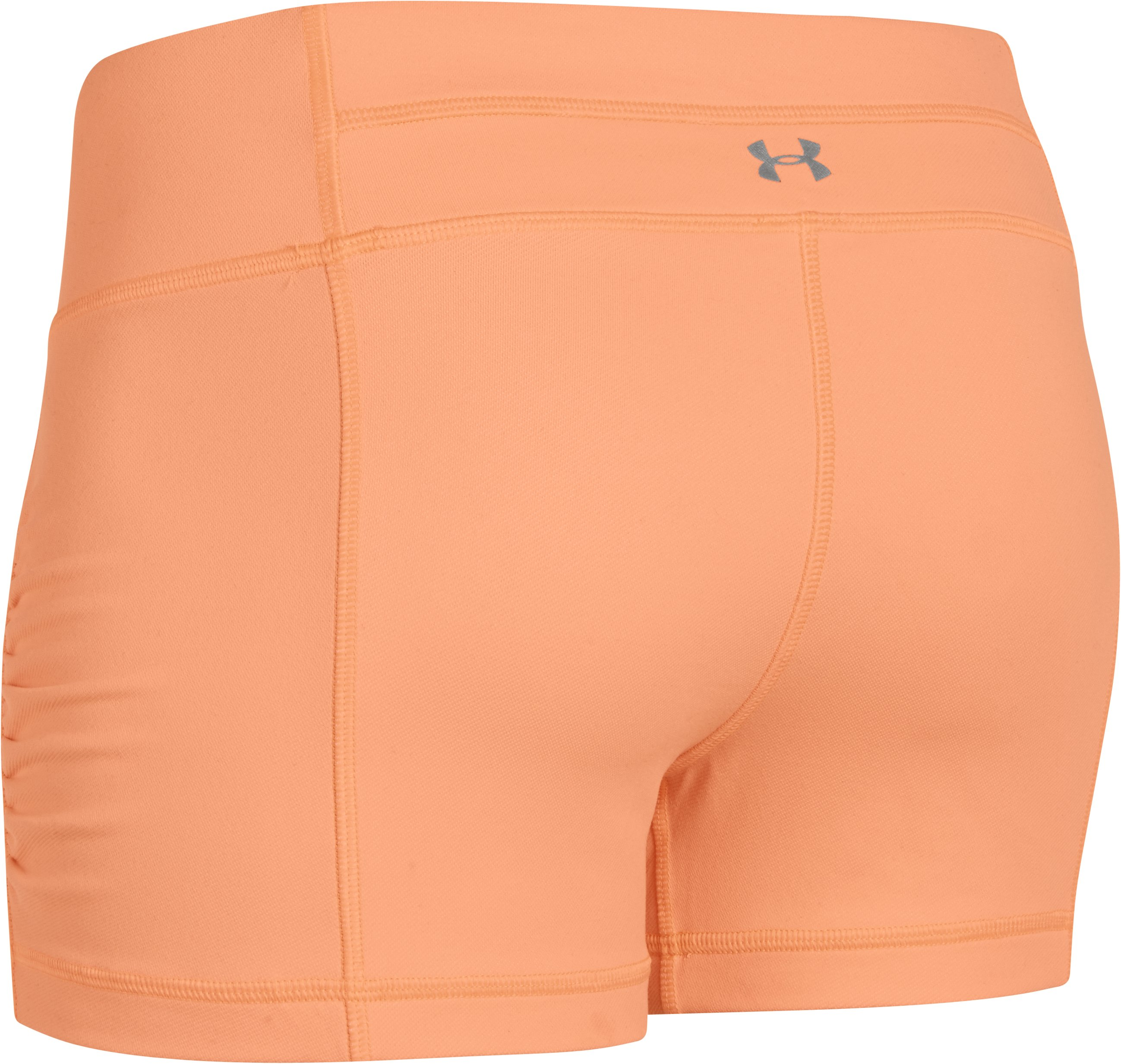 Women's UA StudioLux® Denim Shorty, Afterglow