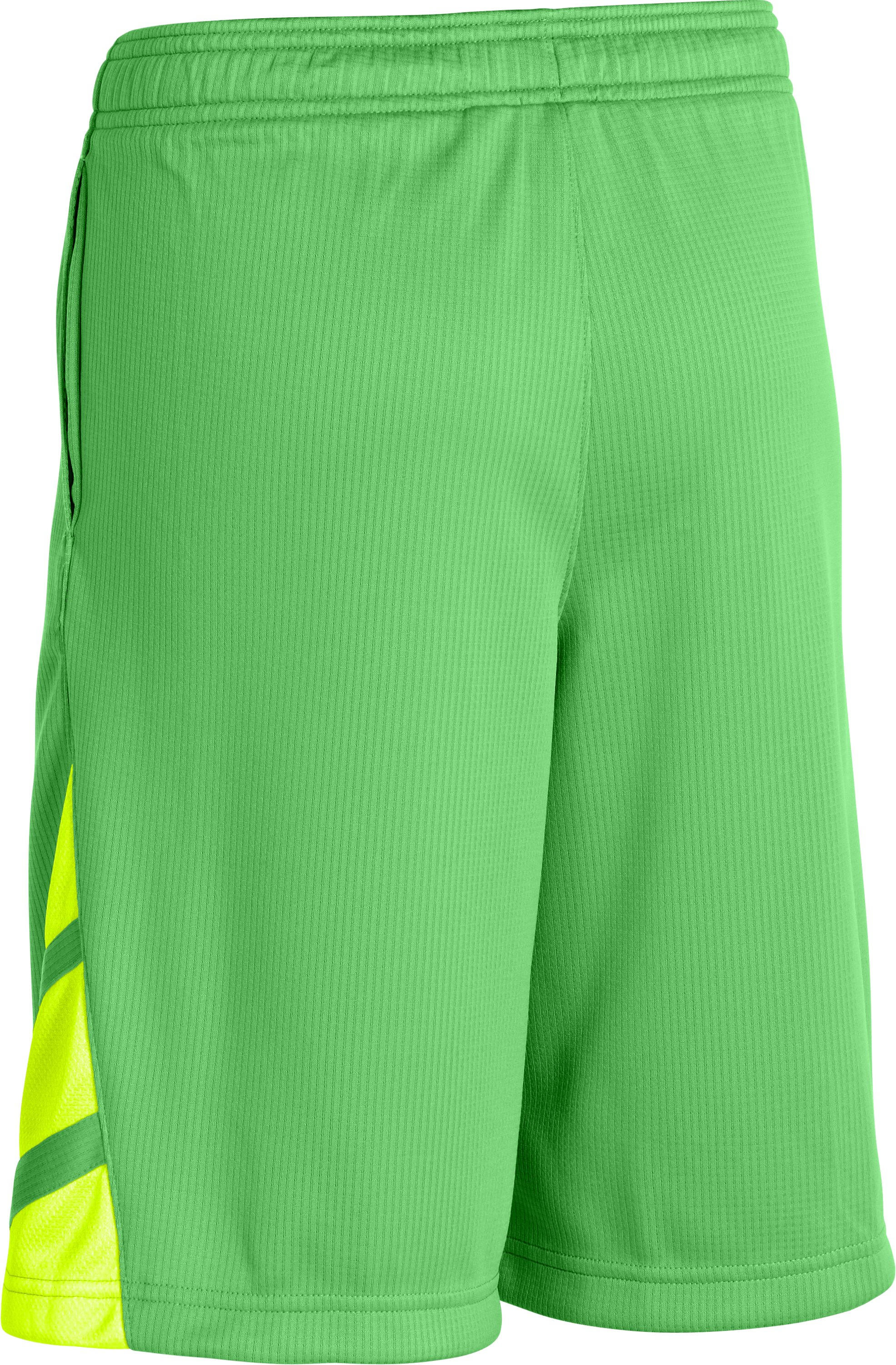 Boys' UA Big Timin Shorts, Lizard,