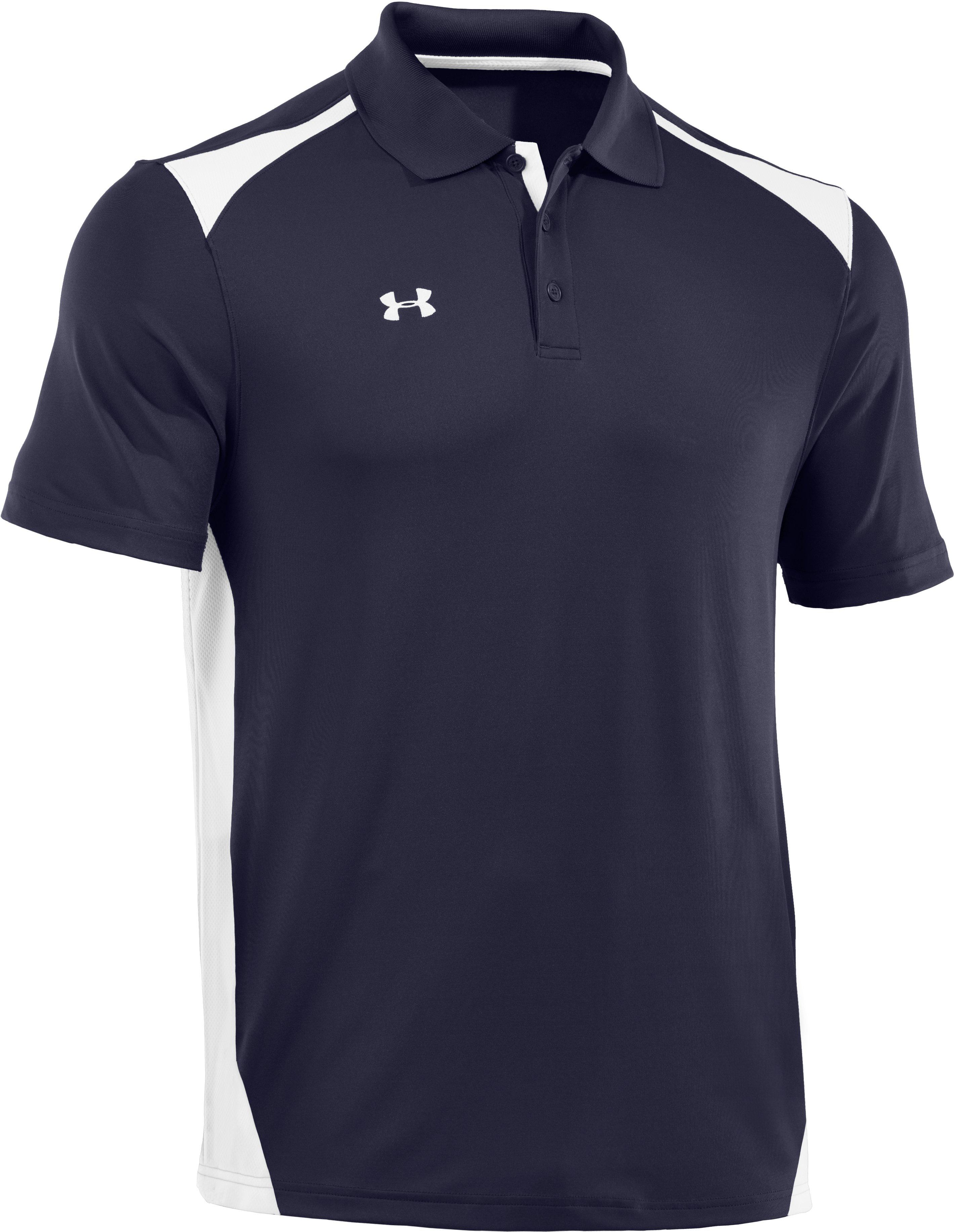 Men's UA Team Polo, Midnight Navy, undefined