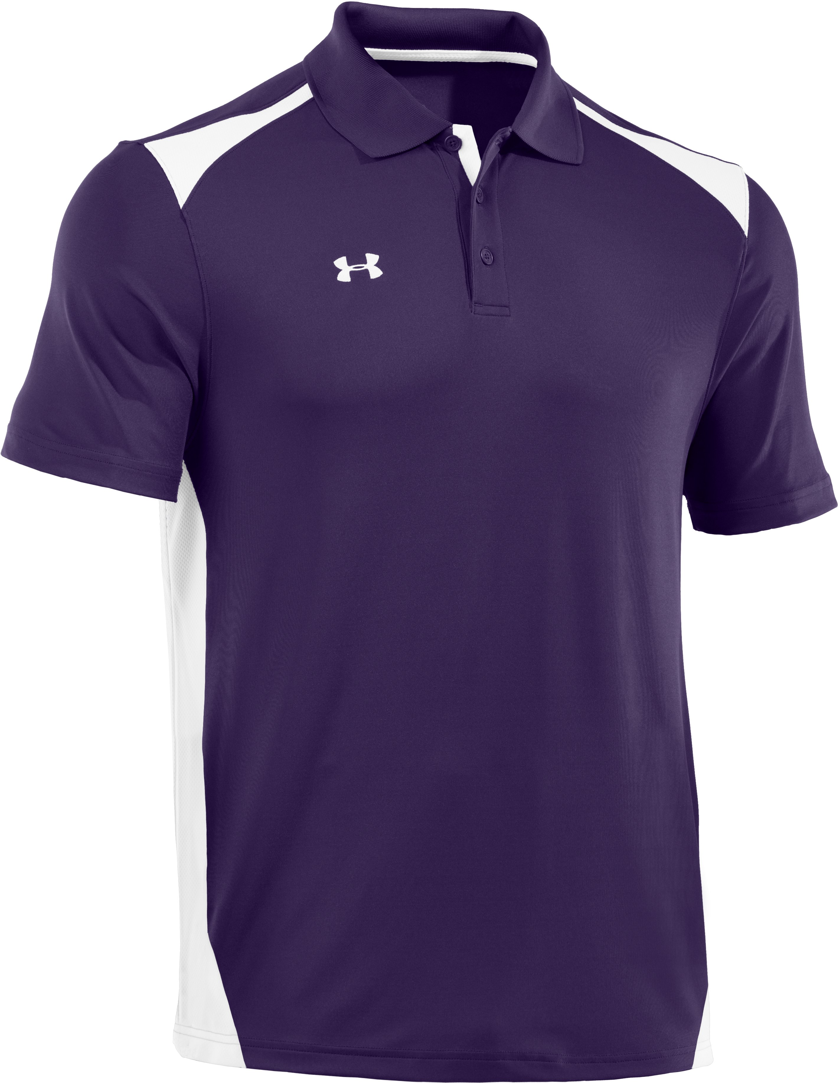 Men's UA Team Polo, Purple, zoomed image