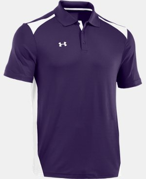 Men's UA Team Polo LIMITED TIME: FREE SHIPPING 1 Color $64.99