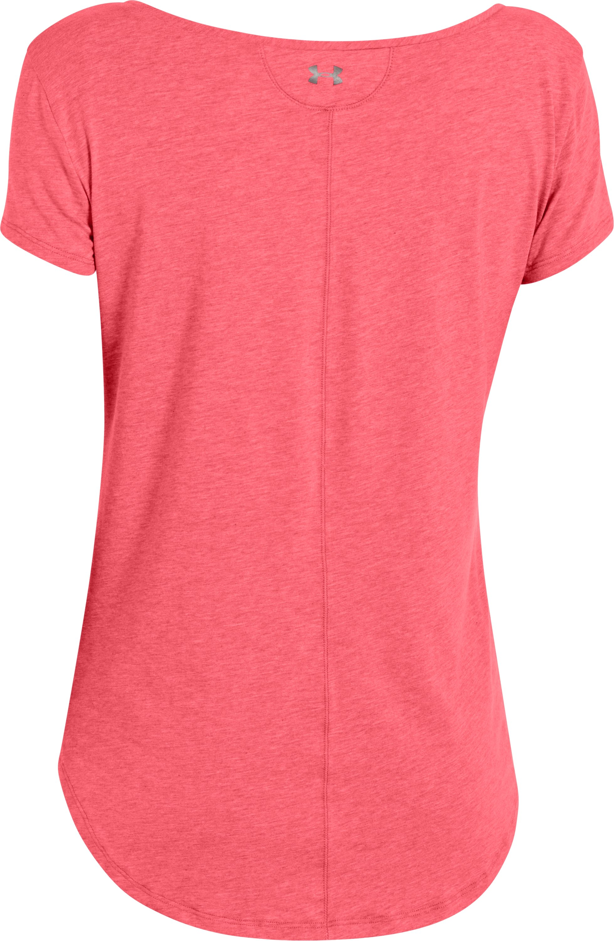 Women's UA Studio Cross-Town Short Sleeve, BRILLIANCE, undefined