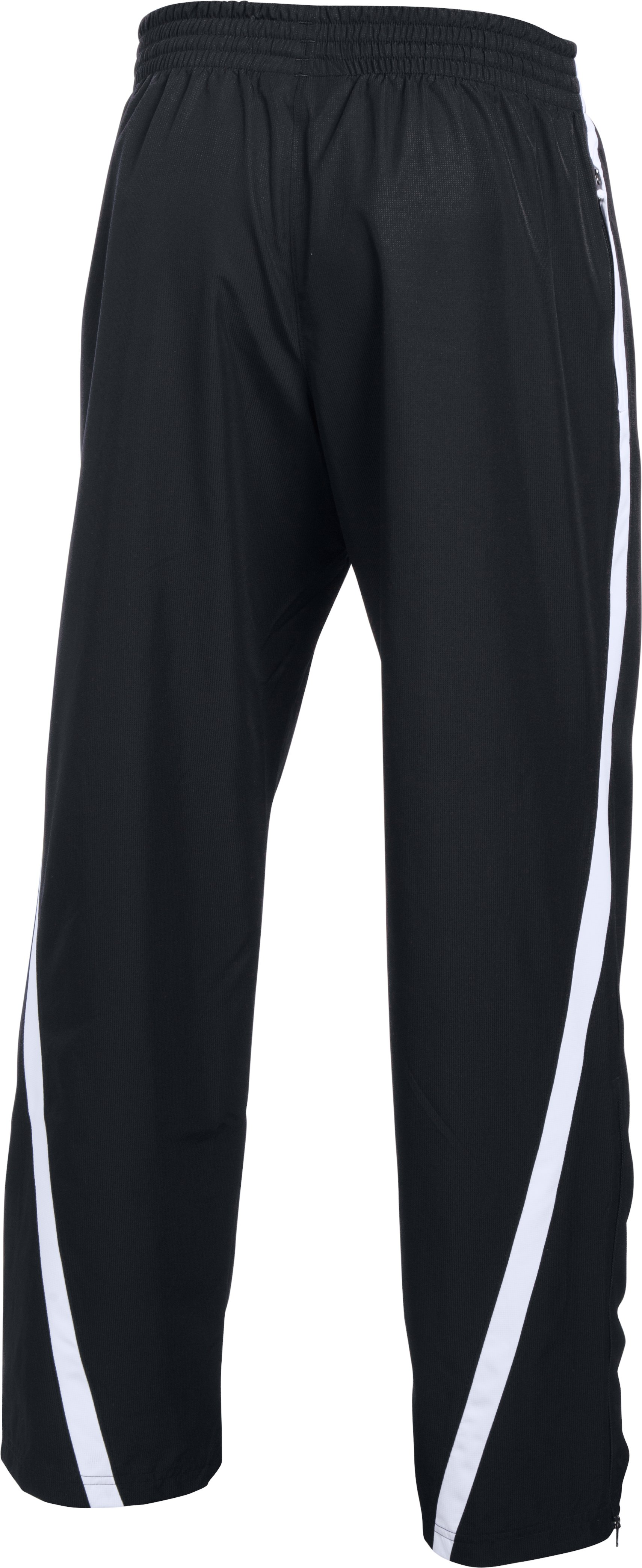 Men's UA Essential Warm-Up Pants, Black