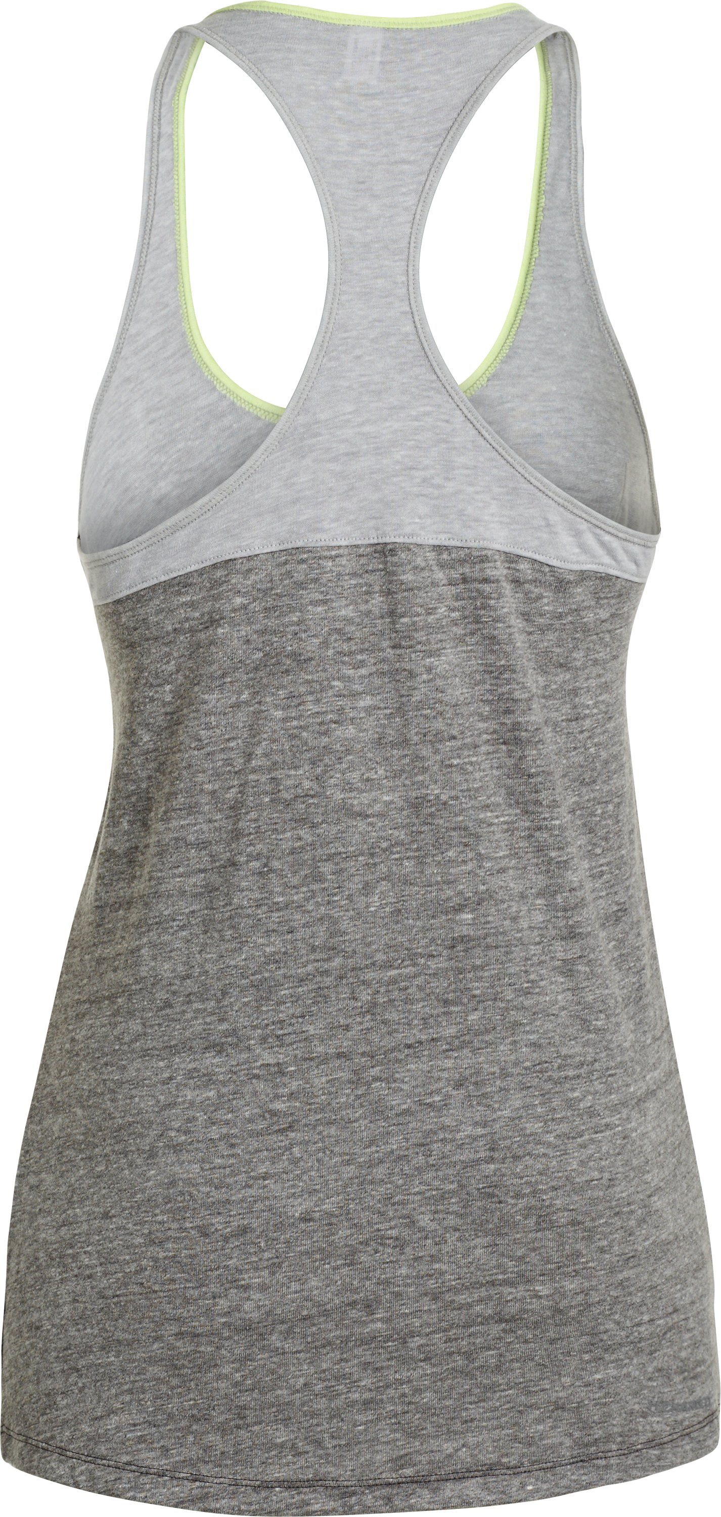 Women's Charged Cotton® Legacy Tank, Charcoal