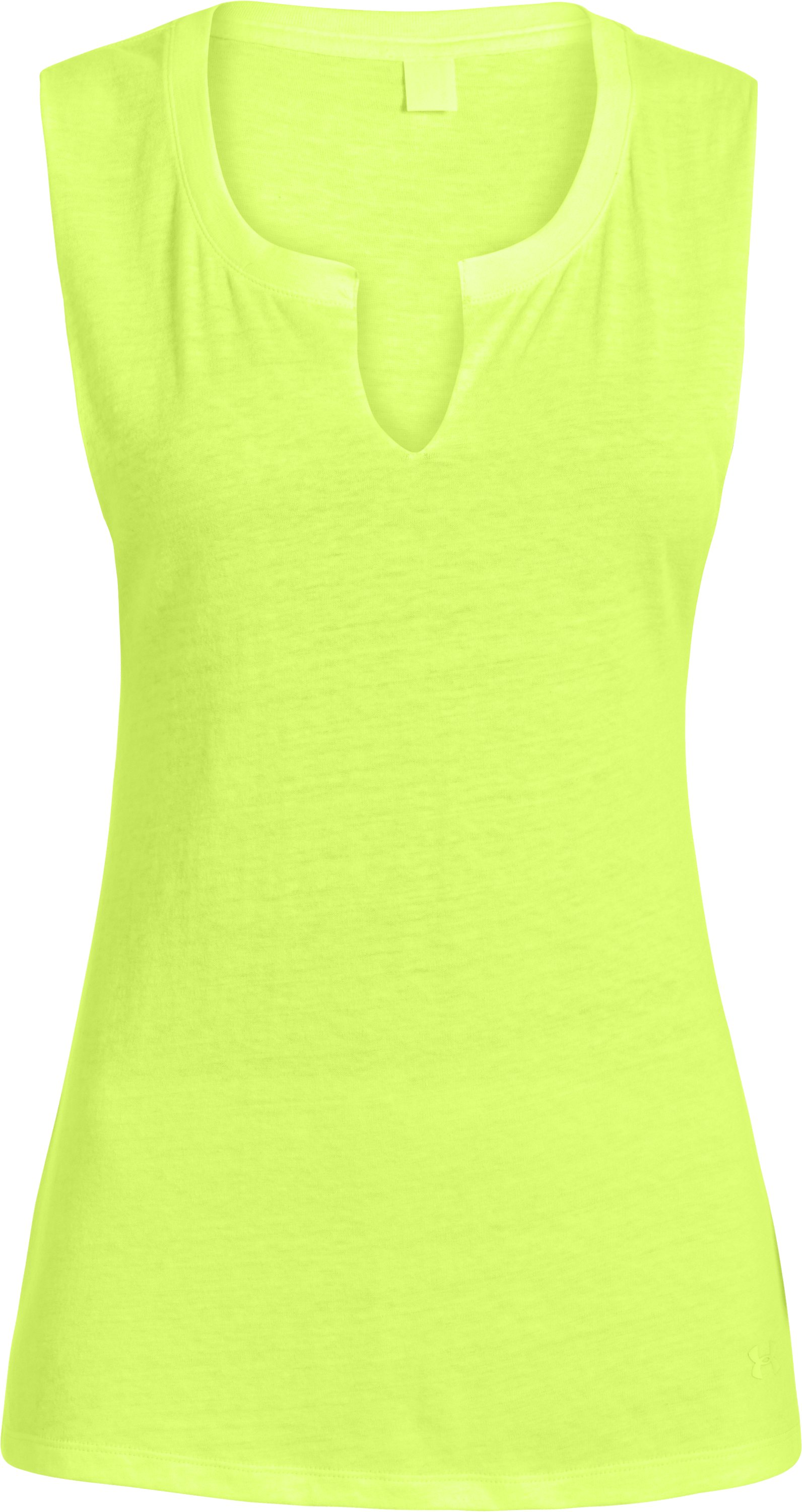 Women's Charged Cotton® Undeniable Sleeveless Crew, X-Ray