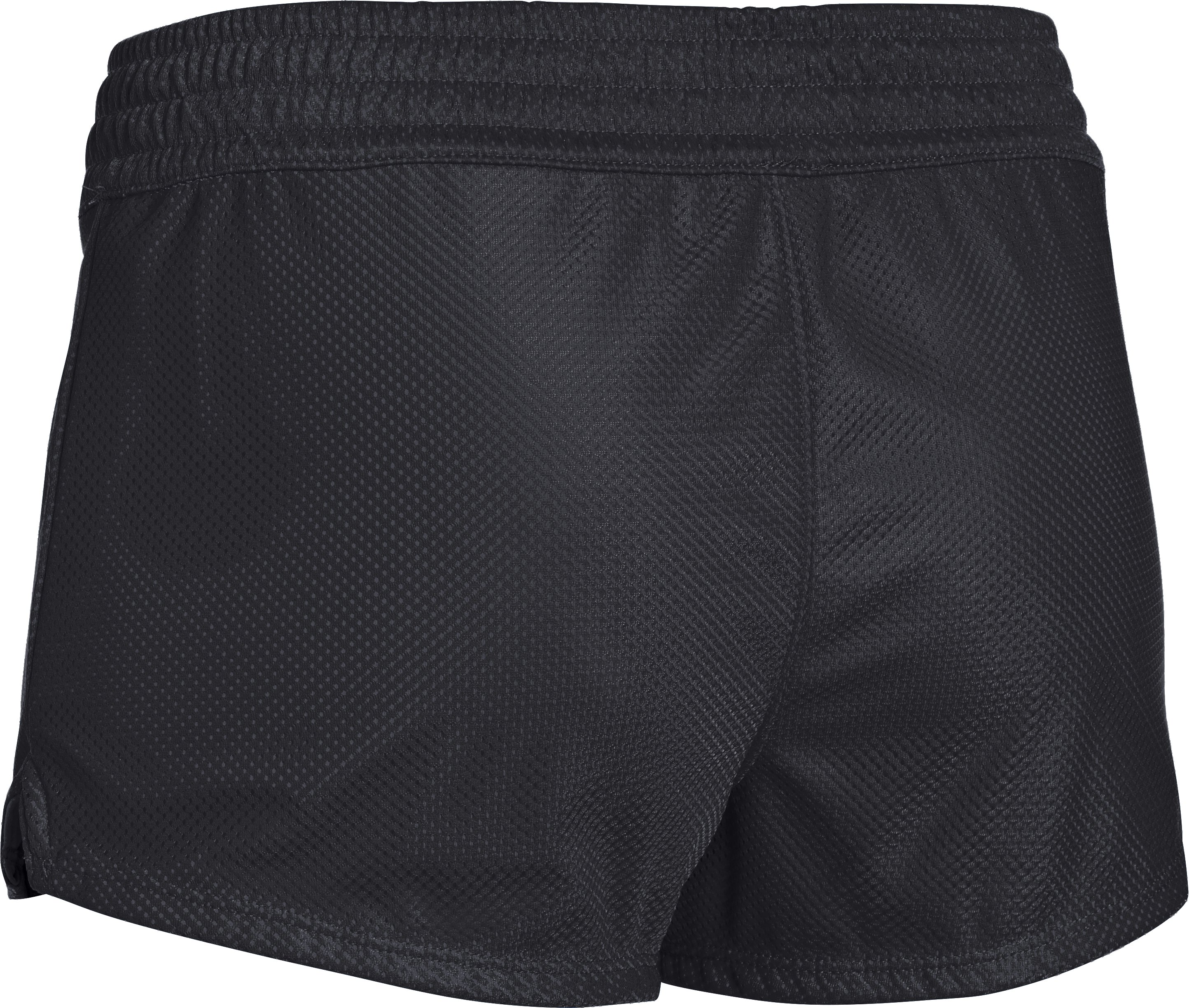 Women's UA Upton Mesh Shorty, Black , undefined