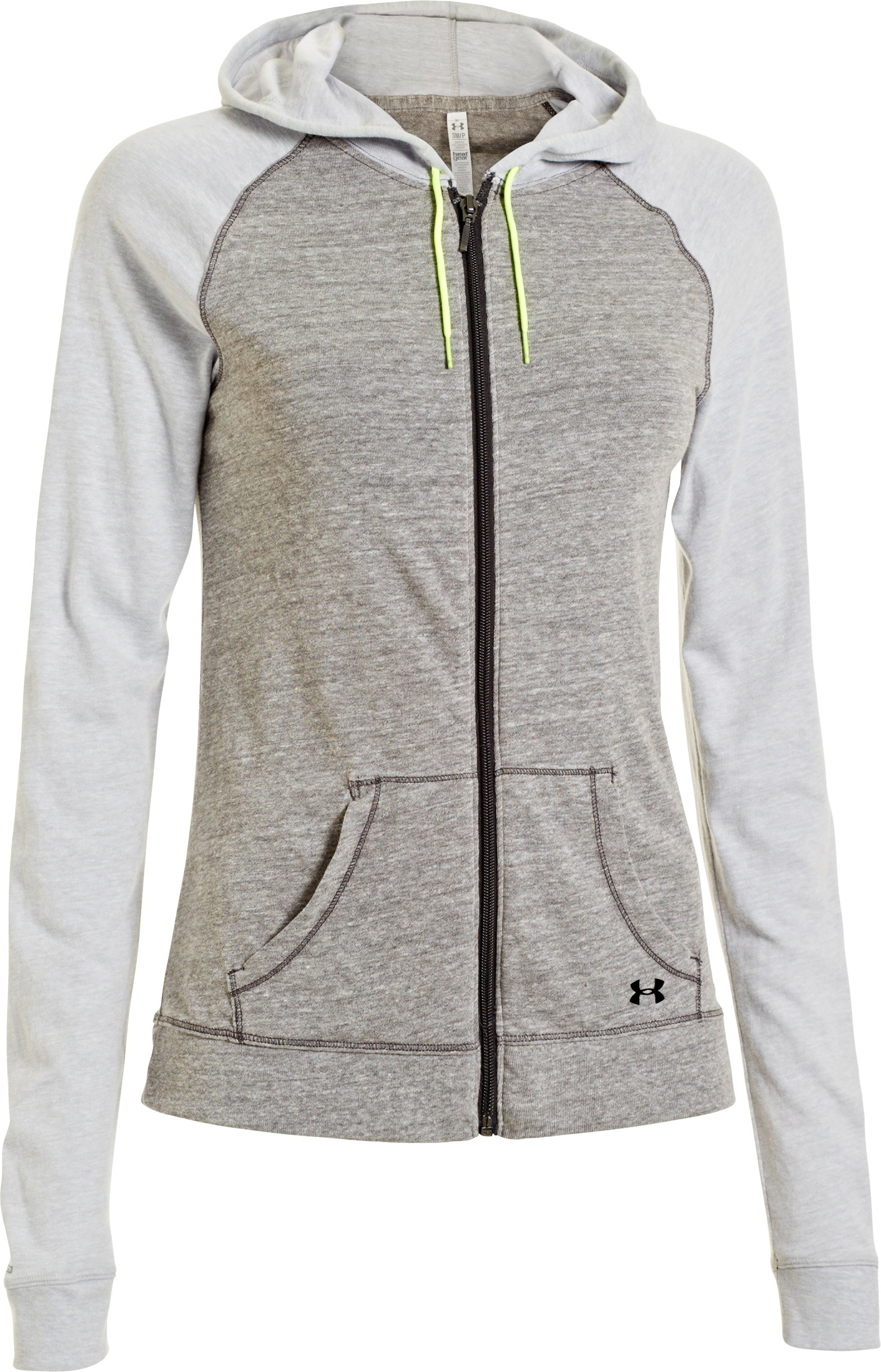 Women's Charged Cotton® Undeniable Full Zip, Charcoal