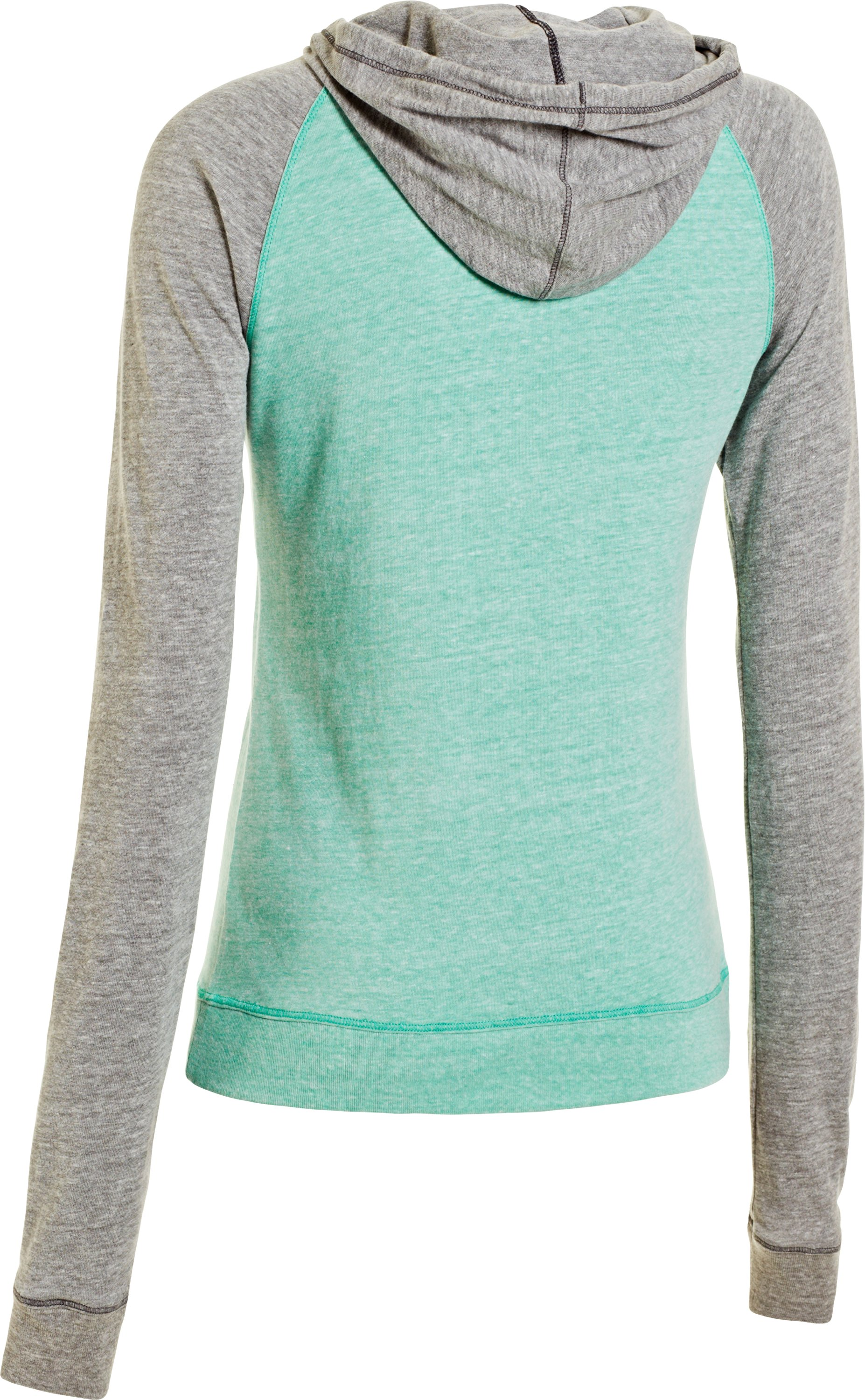Women's Charged Cotton® Undeniable Full Zip, EMERALD LAKE