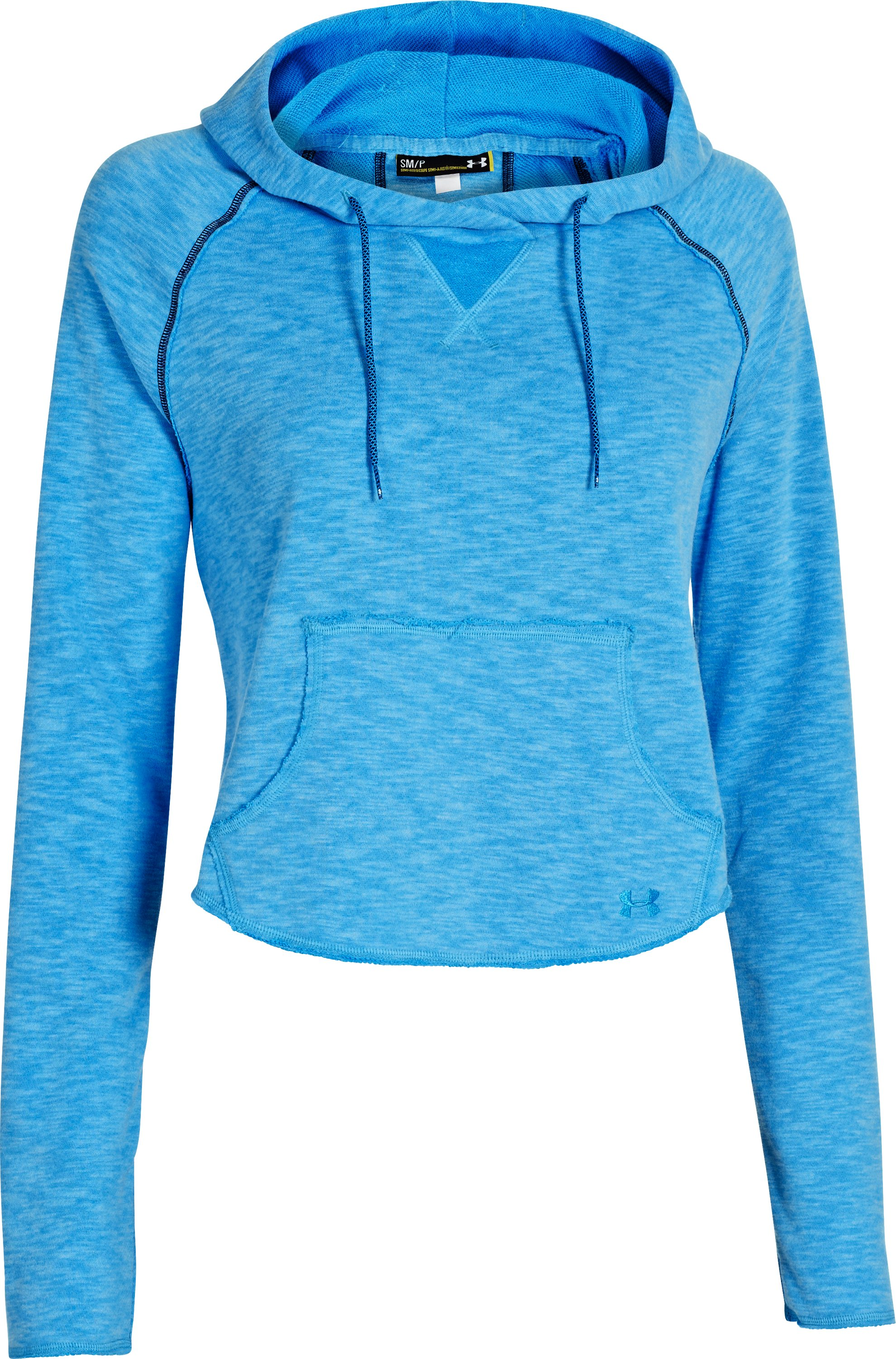 Women's UA Rollick Hoodie, ELECTRIC BLUE