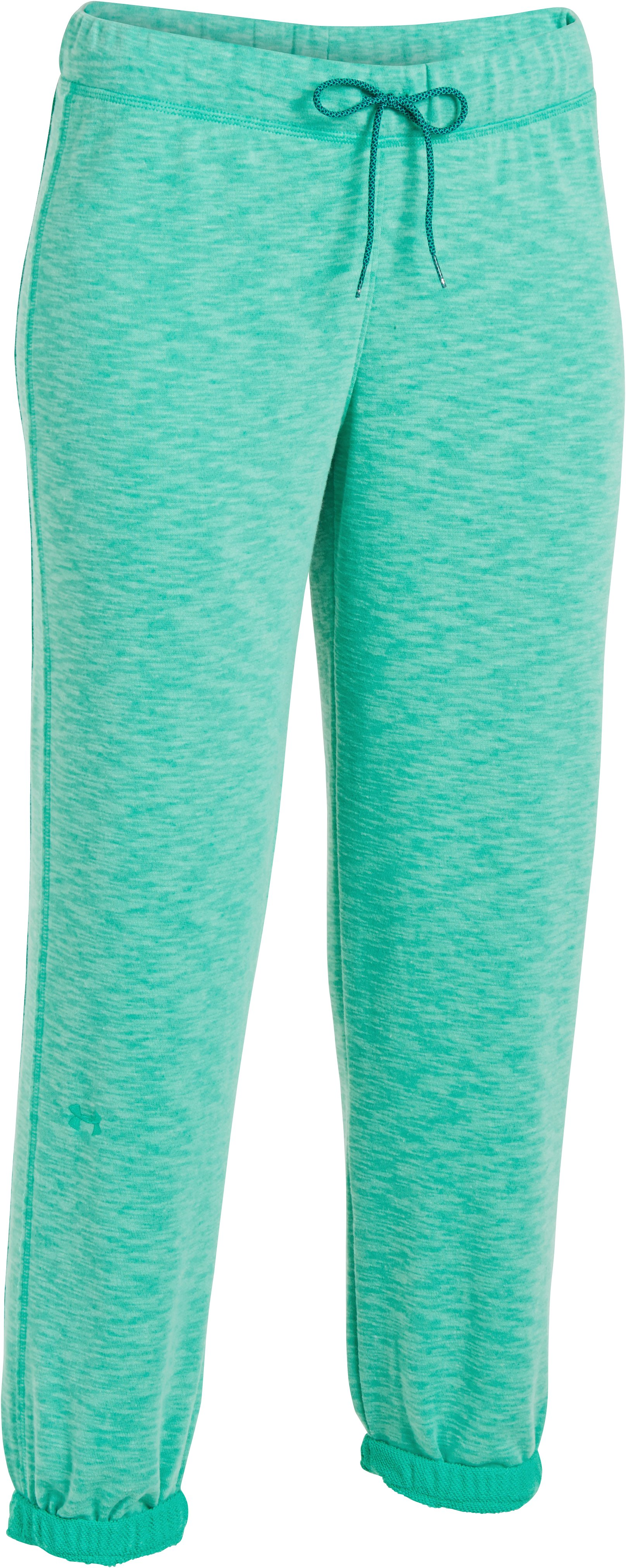 Women's UA Rollick Capri, EMERALD LAKE