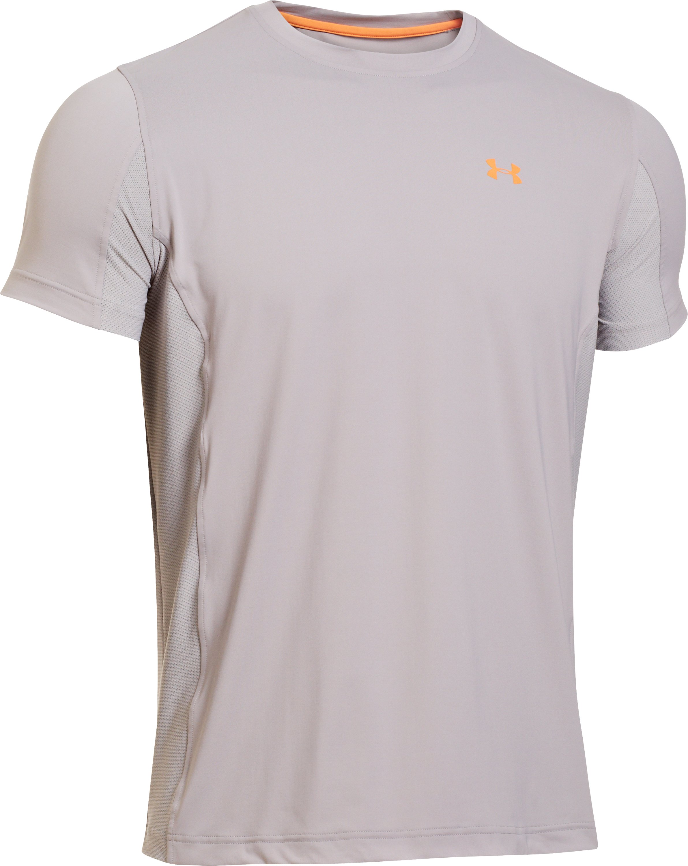 Men's UA Iso-Chill Short Sleeve Shirt, BOULDER