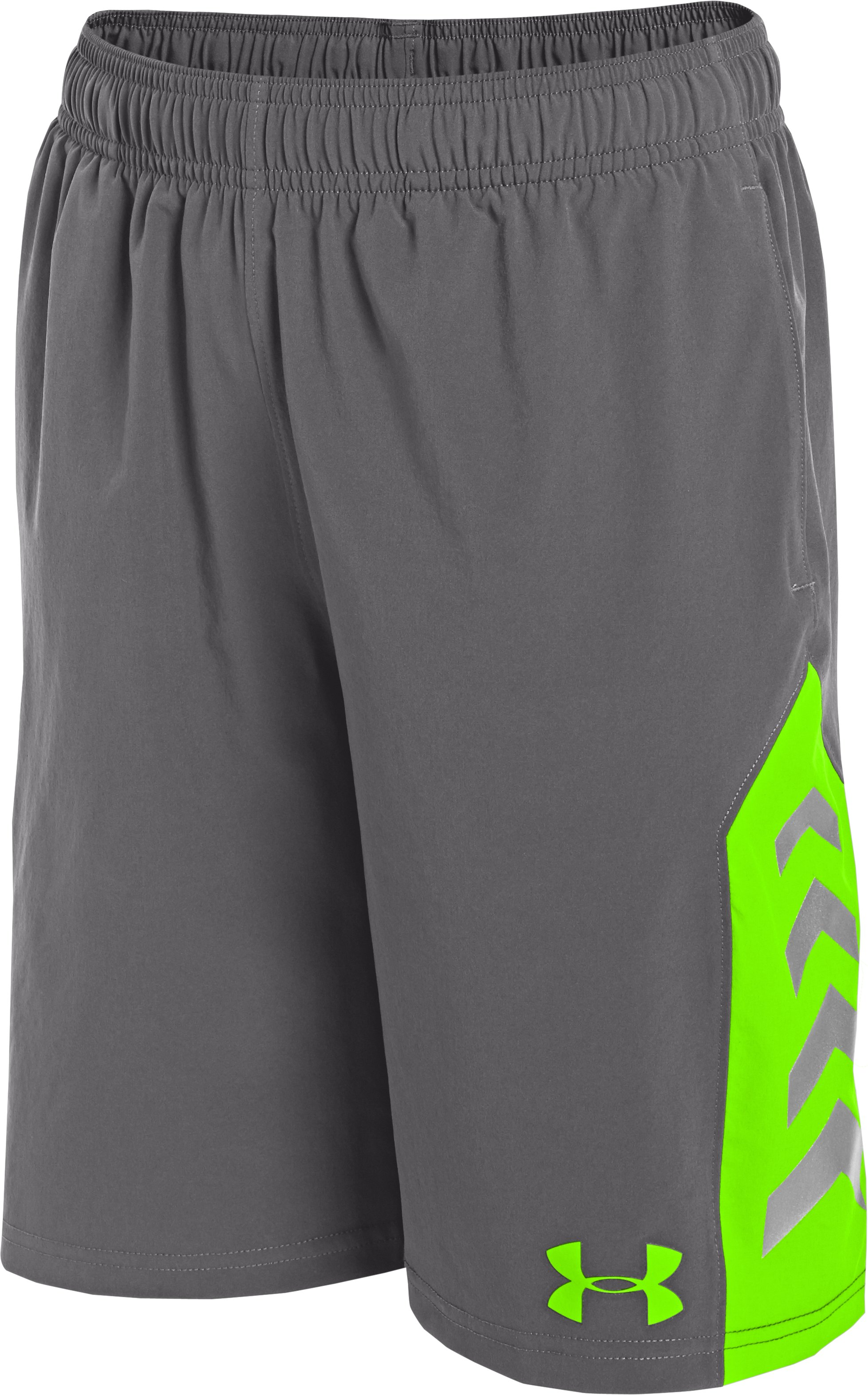Boys' NFL Combine Authentic Shorts, Graphite