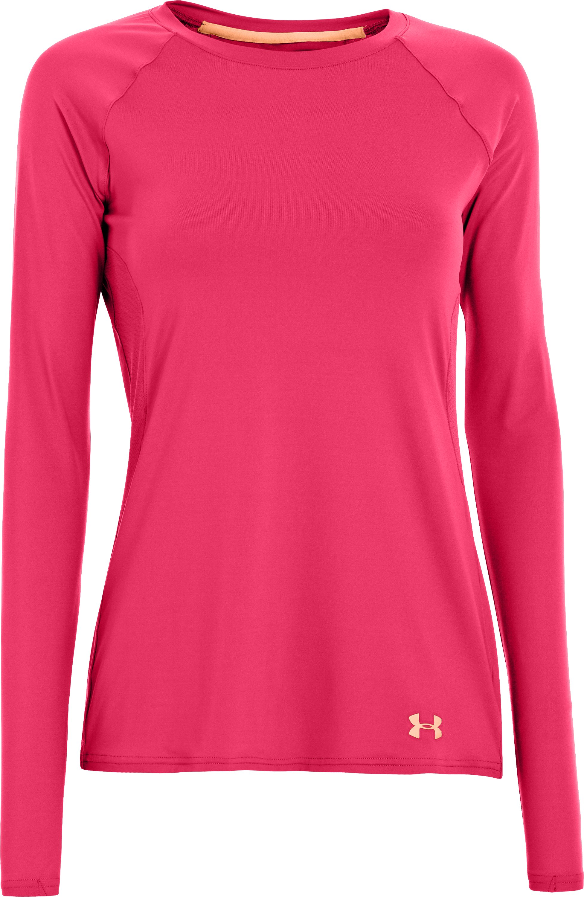 Women's UA Iso-Chill Long Sleeve, Hollywood