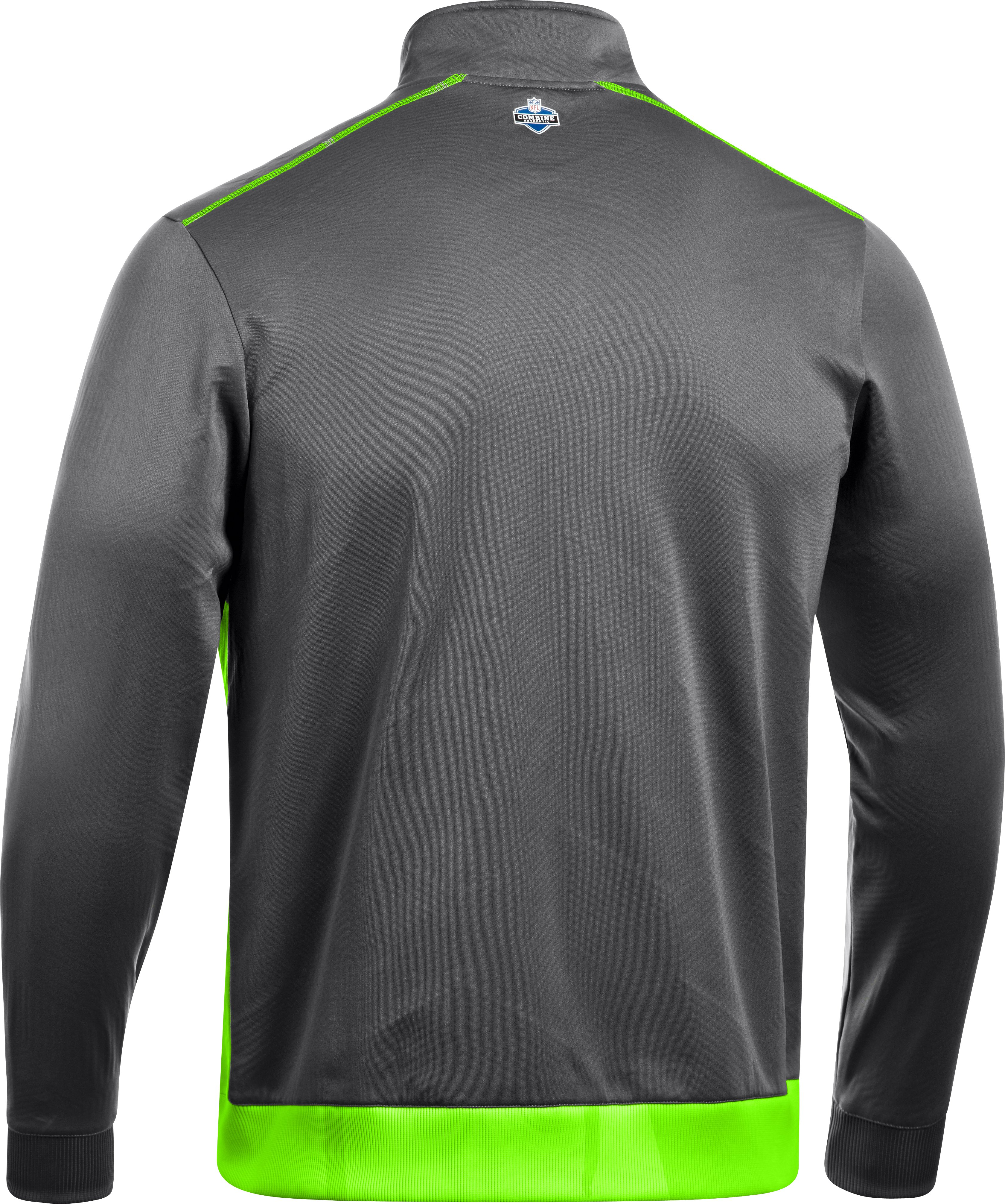 Men's NFL Combine Authentic ColdGear® Infrared Warm-Up Jacket, Graphite