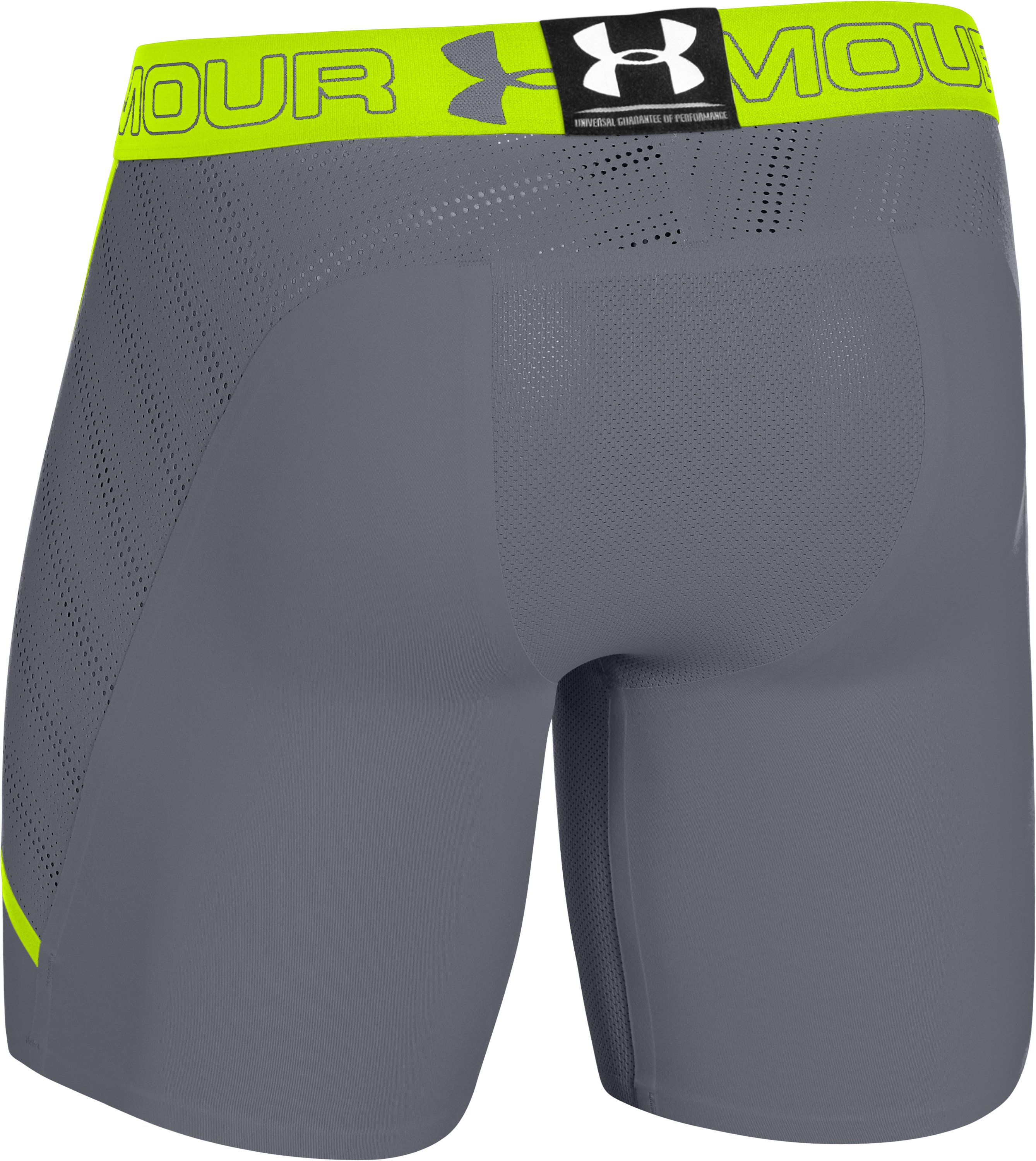 Men's HeatGear® ArmourVent™ Compression Shorts, Steel