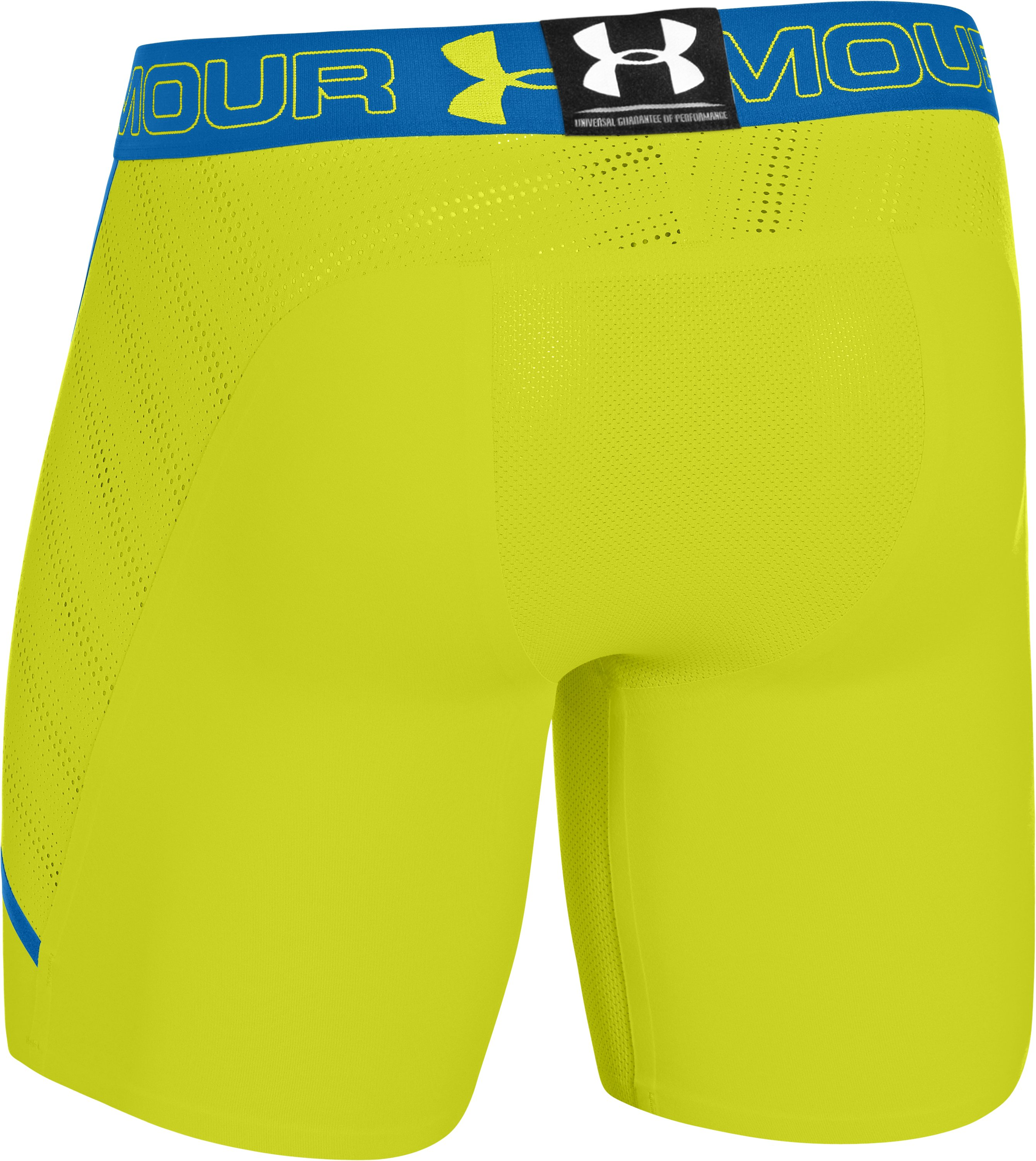 Men's HeatGear® ArmourVent™ Compression Shorts, Flash Light