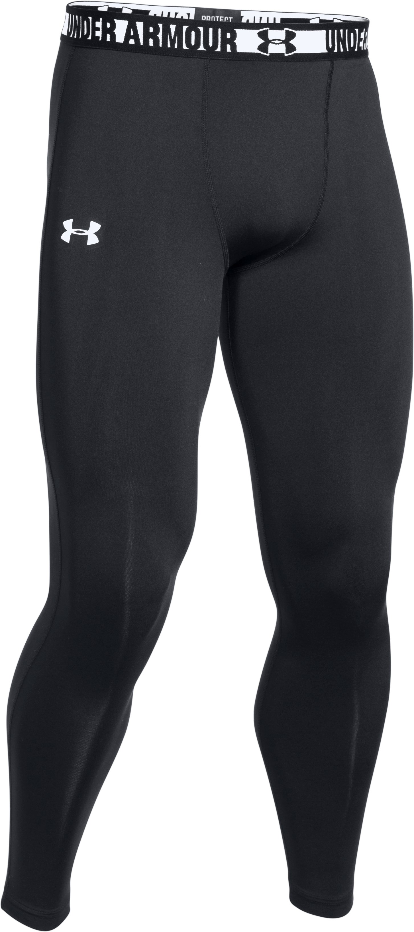 Men's HeatGear® Sonic Compression Leggings, Black