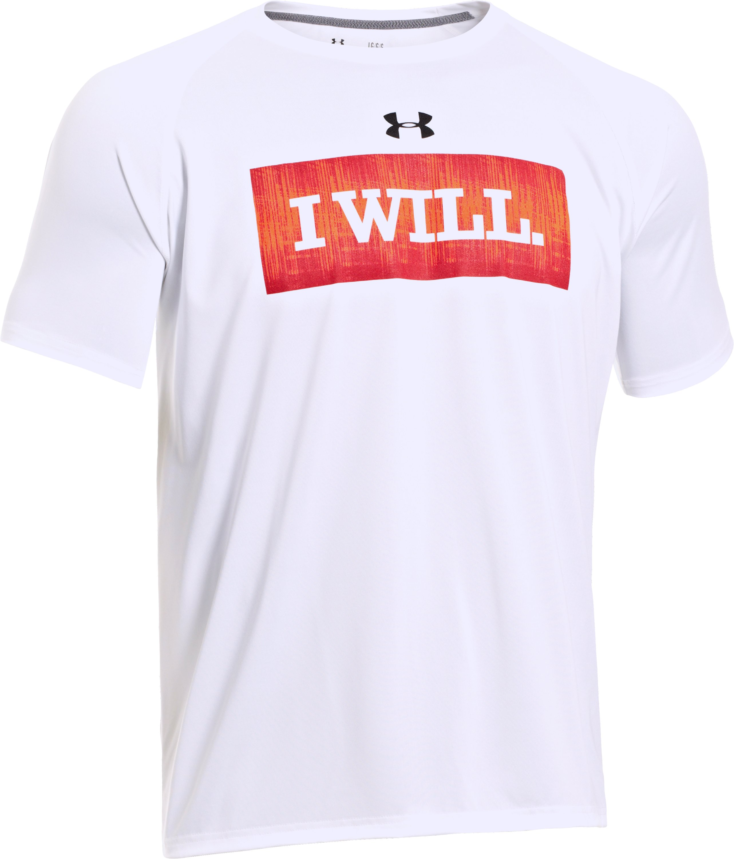 Men's UA I Will® T-Shirt, White, undefined
