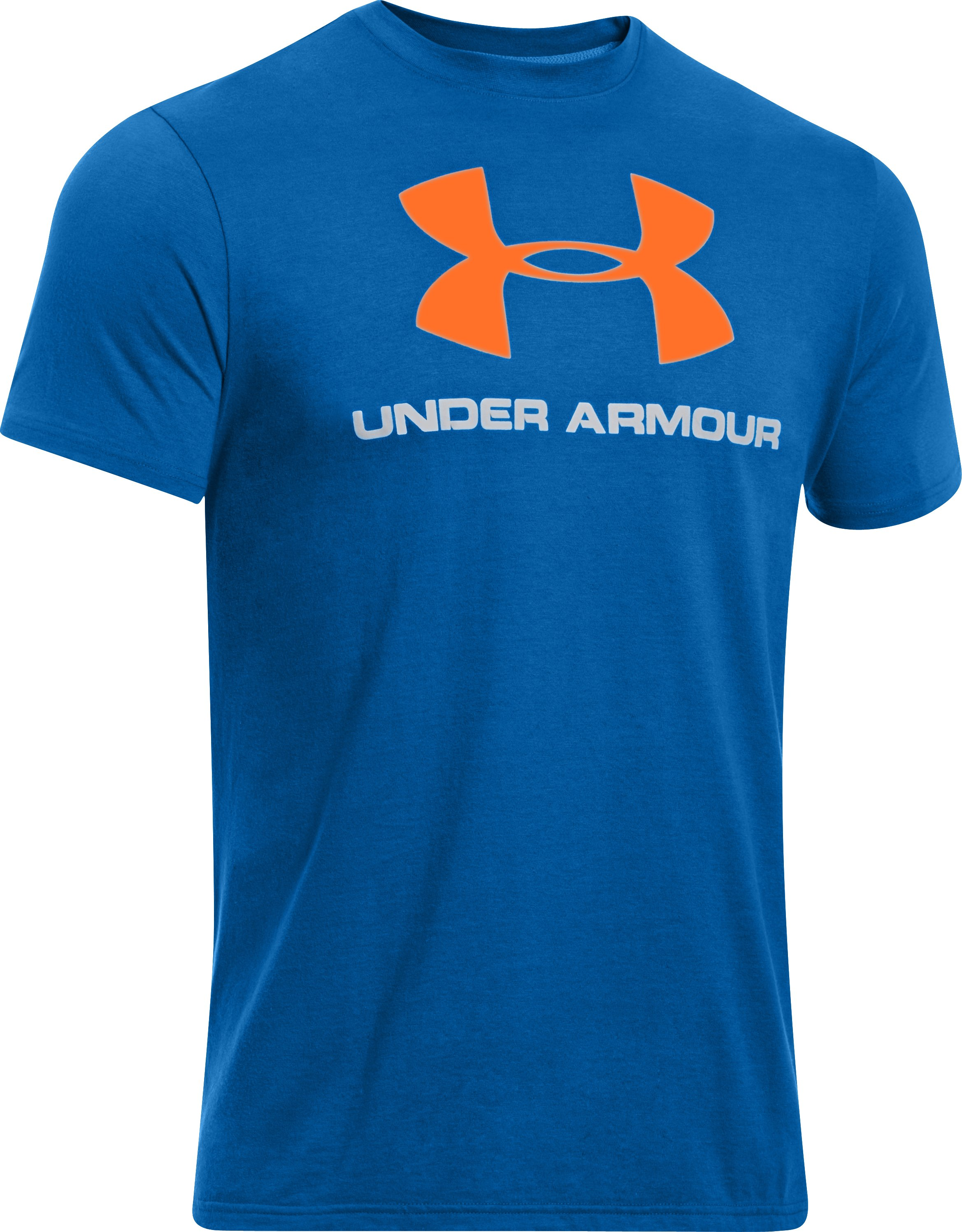 Men's UA Sportstyle Logo T-Shirt, SUPERIOR BLUE