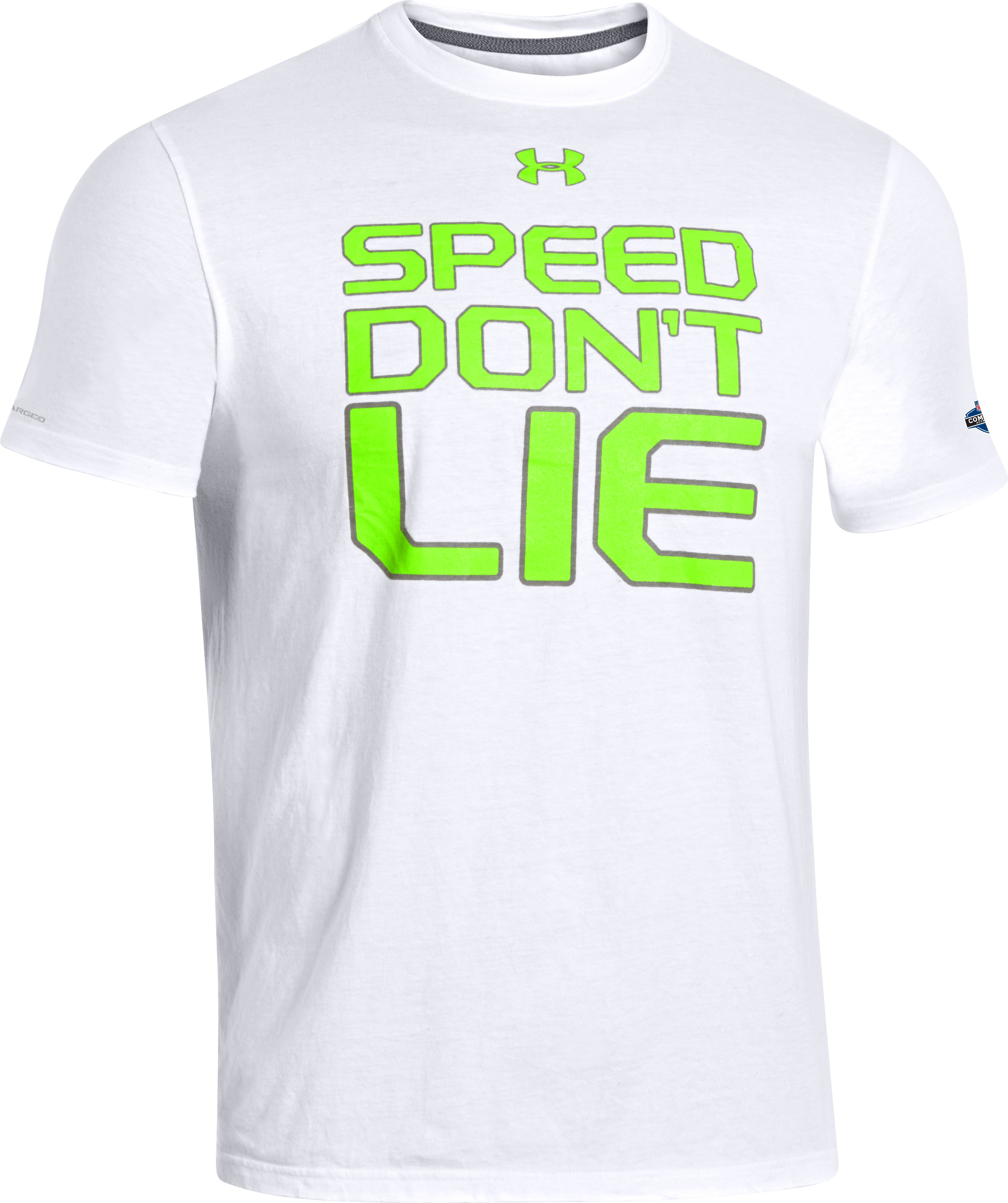 Men's NFL Combine Authentic Speed T-Shirt, White