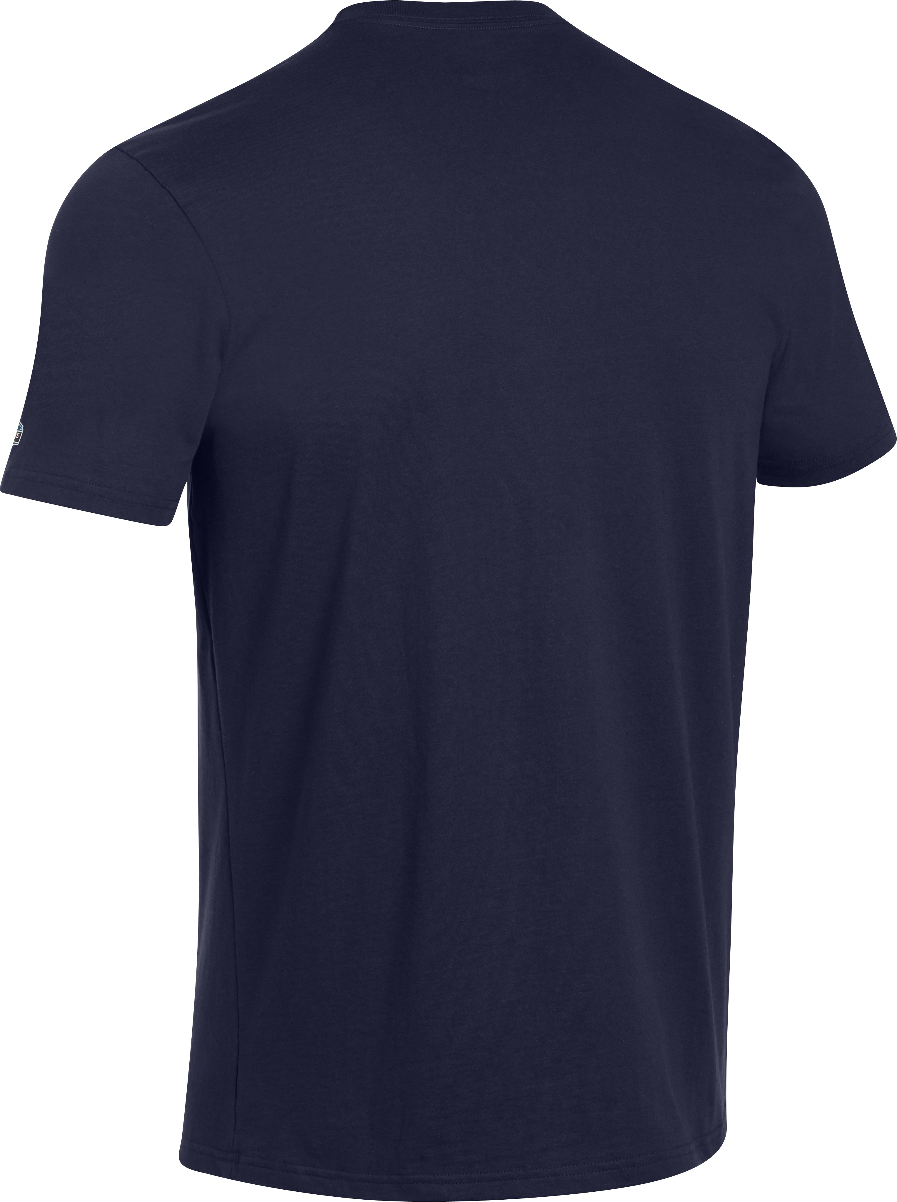 Men's NFL Combine Authentic Speed T-Shirt, Midnight Navy
