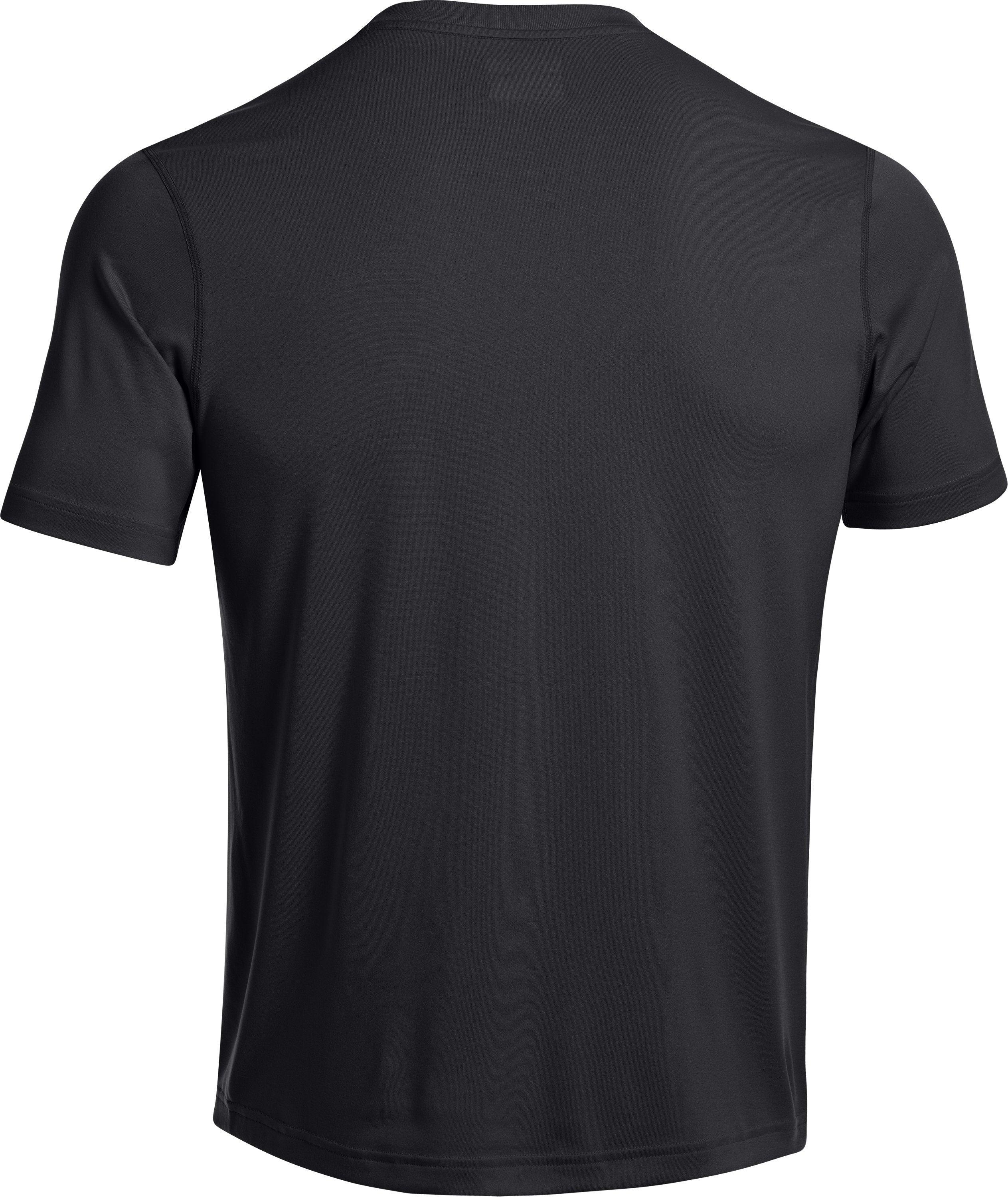 Men's UA All Over Grid T-Shirt, Black