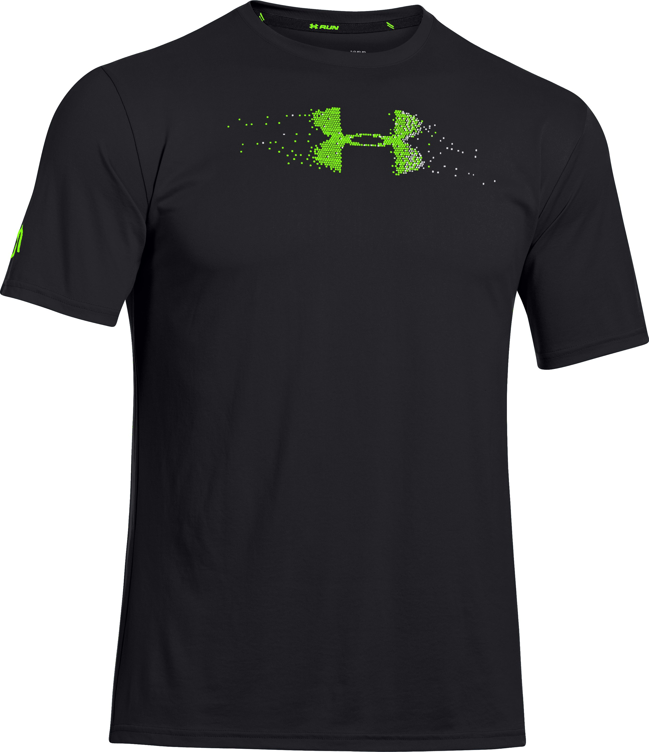 Men's UA Sick Kick T-Shirt, Black ,