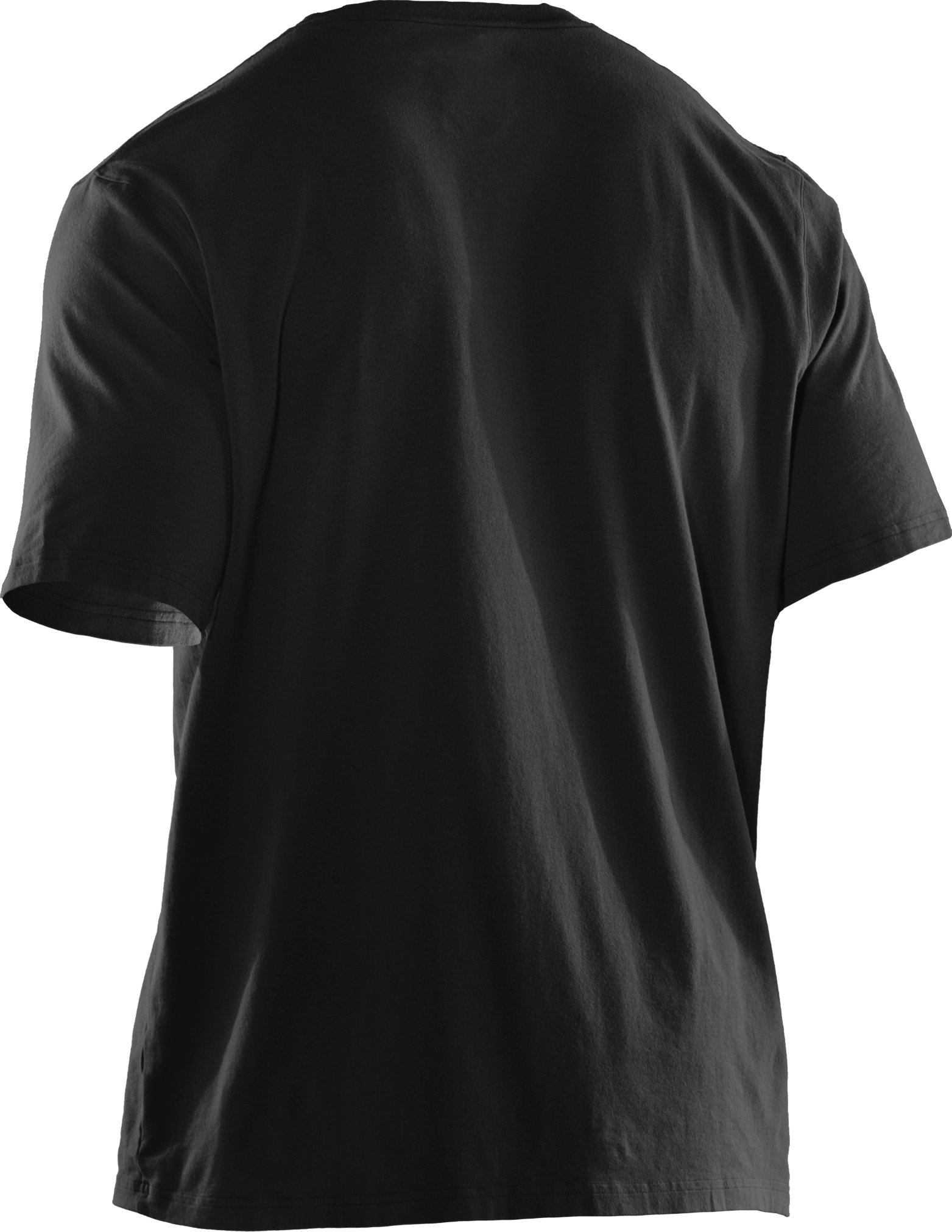 Men's UA Sportstyle Logo IV T-Shirt, Black , undefined
