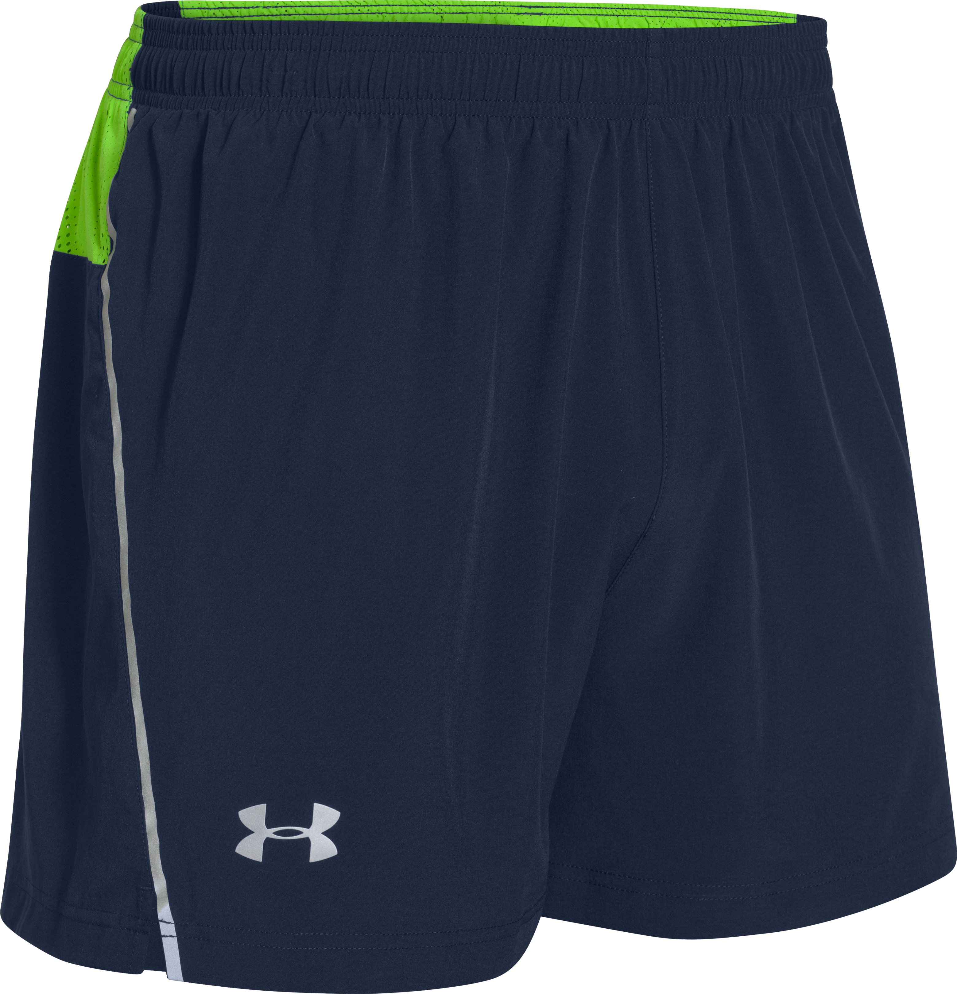 Men's HeatGear® ArmourVent™ Run Shorts, Academy
