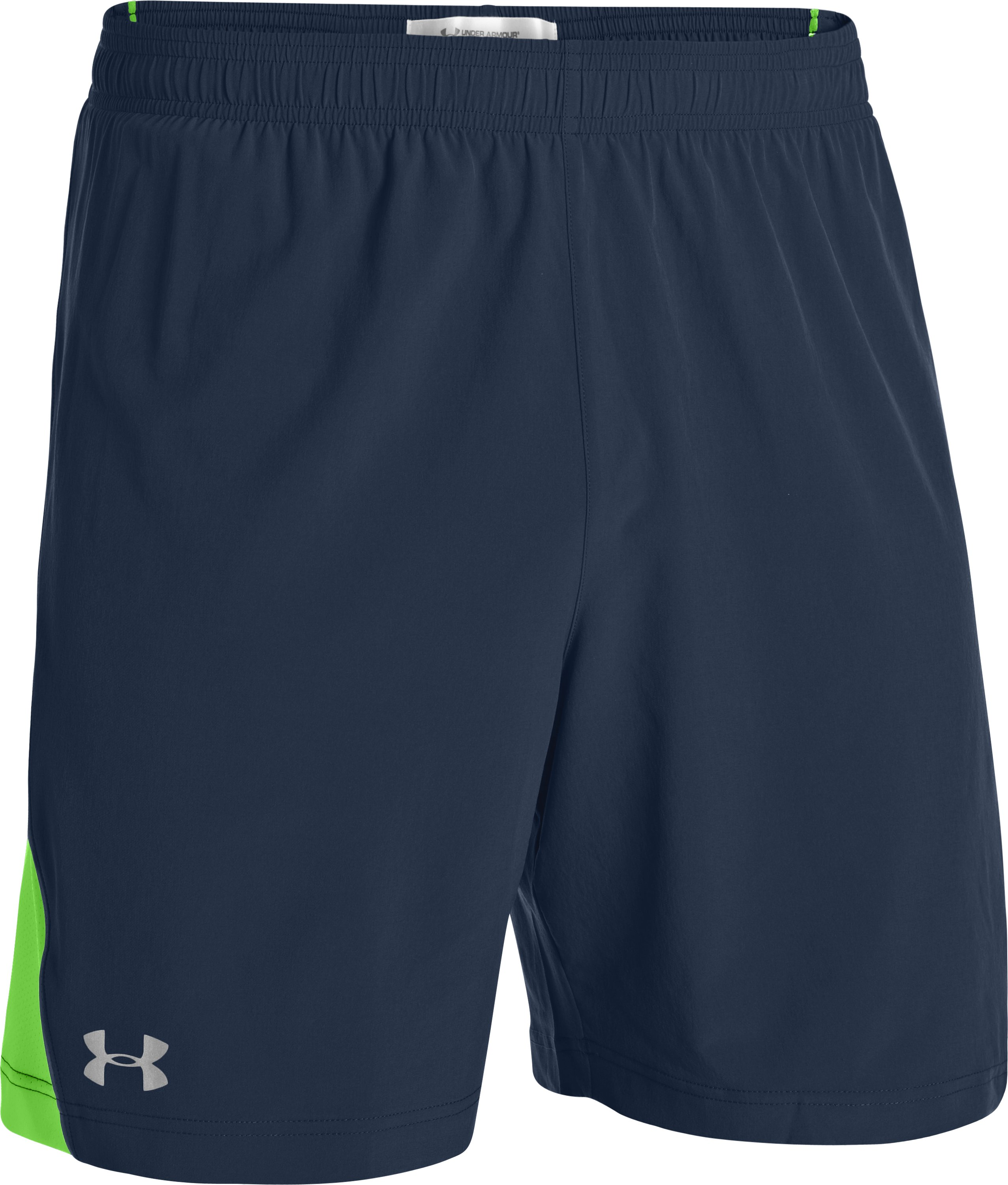 "Men's UA HeatGear® Flyweight Run 7"" Shorts, Academy, undefined"